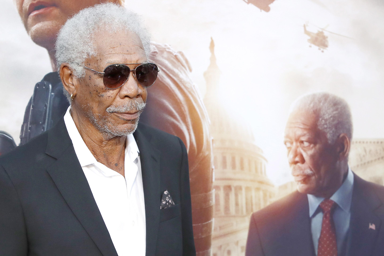 Morgan Freeman aan de lijn: een tienminutengesprek met God