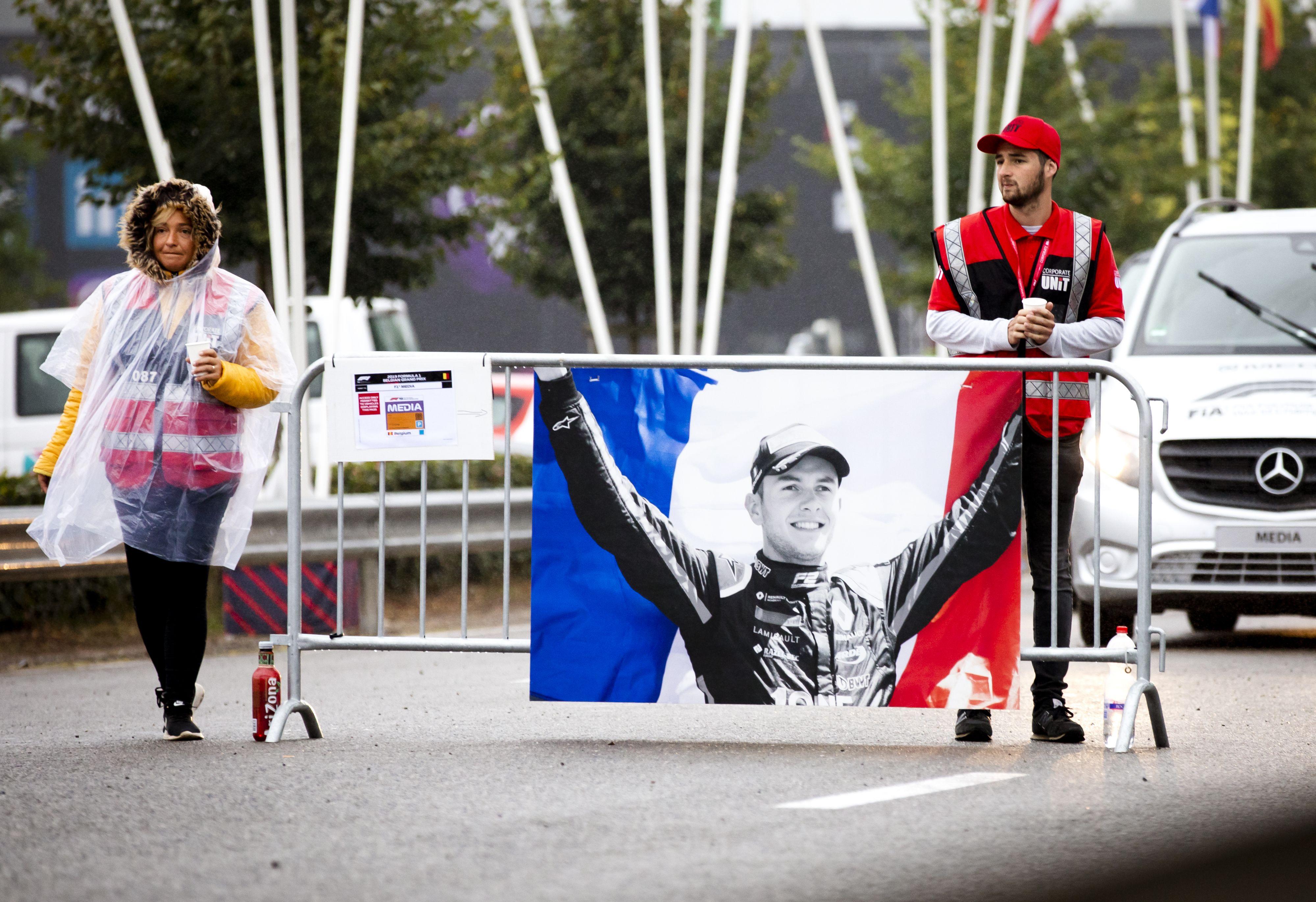 Racewereld herdenkt overleden Anthoine Hubert (22).