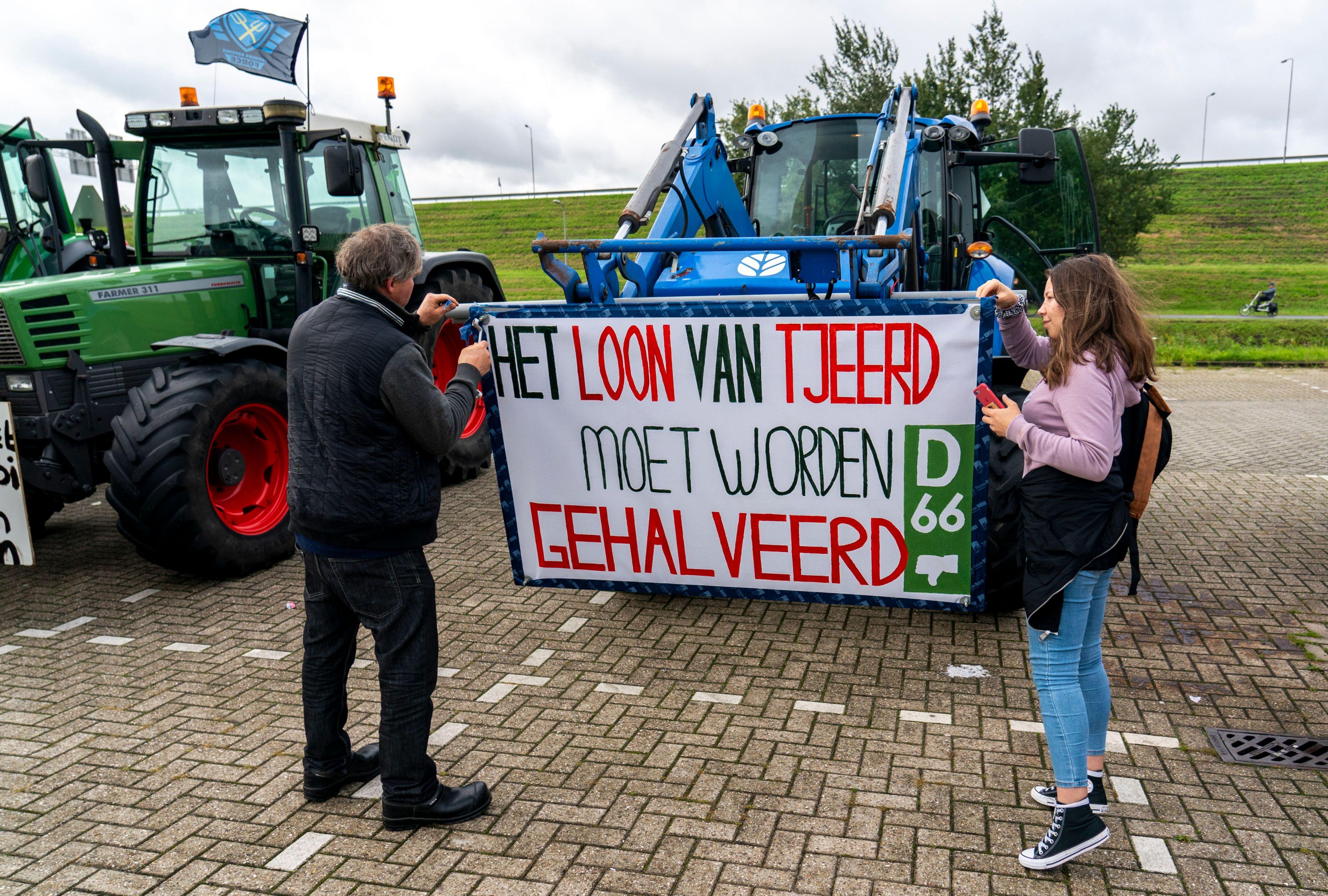 Bij boeren overheerst gevoel van verbondenheid, 'en nu afwachten'