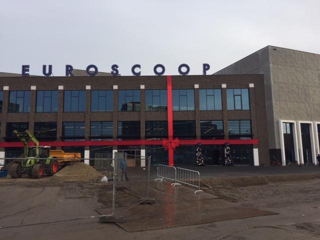 Amsterdam-Noord heeft z'n eigen Euroscoop, eh… Pathé