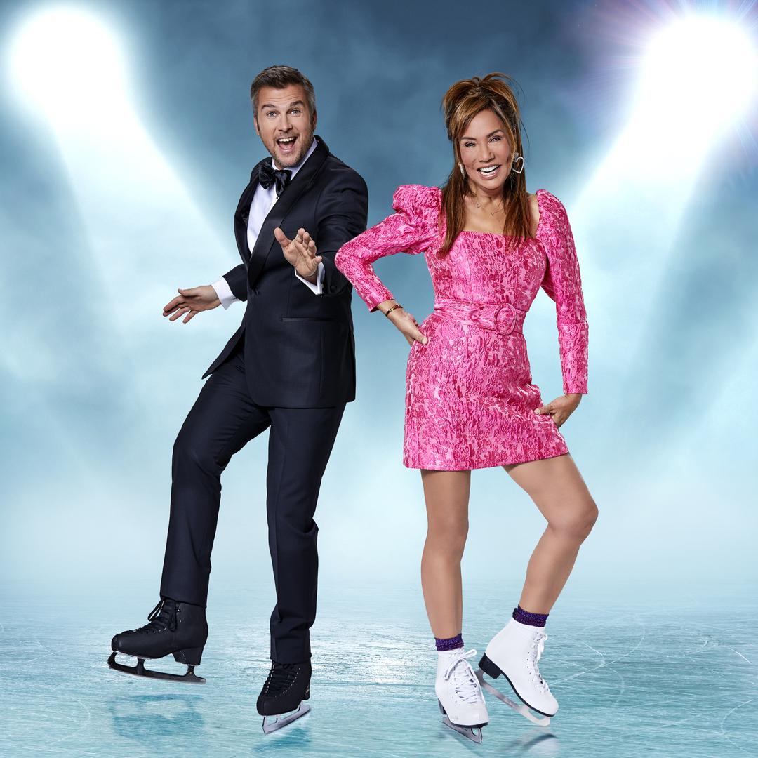 Sabine Uitslag kan in Dancing on Ice niet dominant zijn