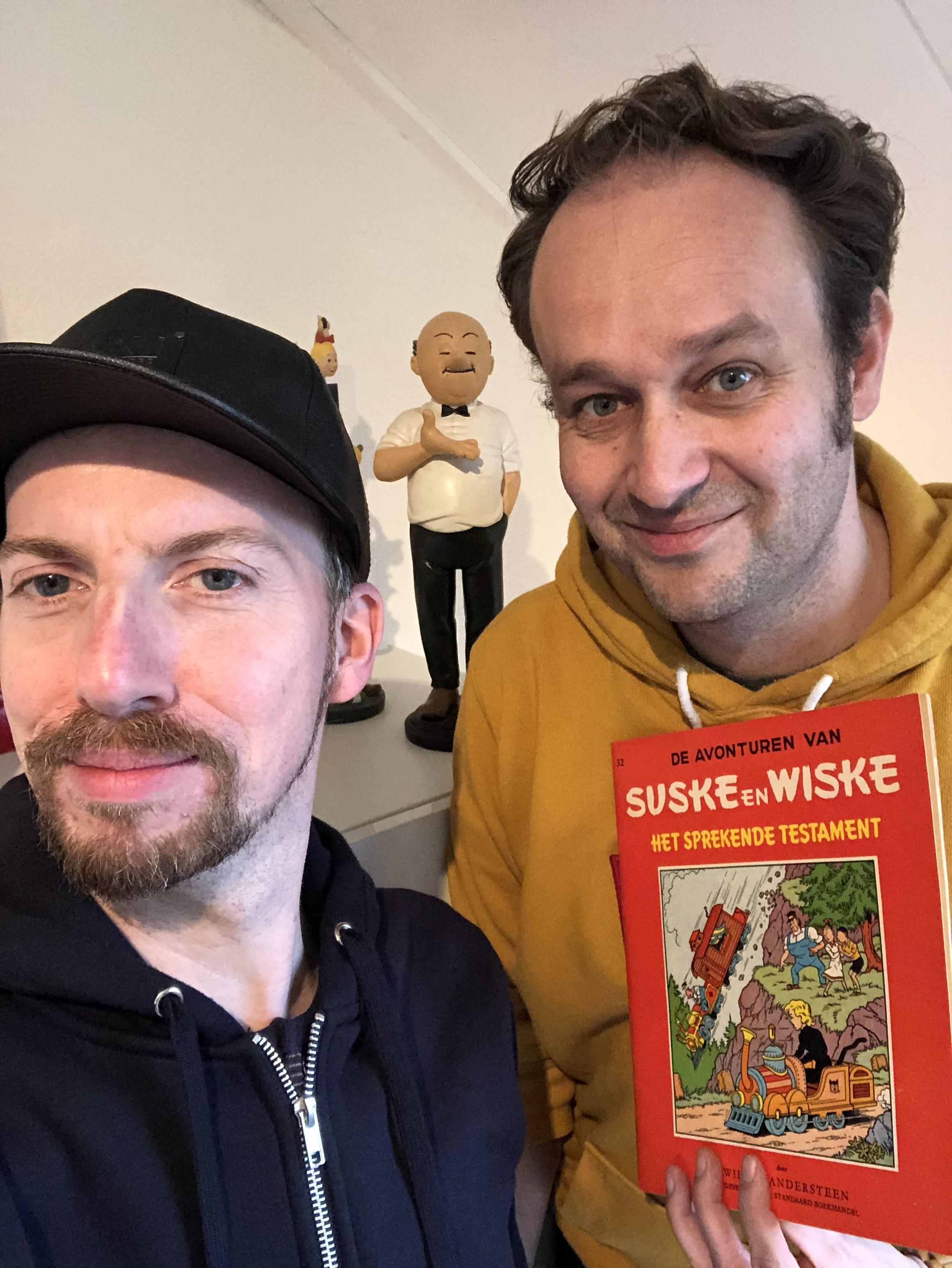 Koen Maas' podcastmonument voor Suske en Wiske