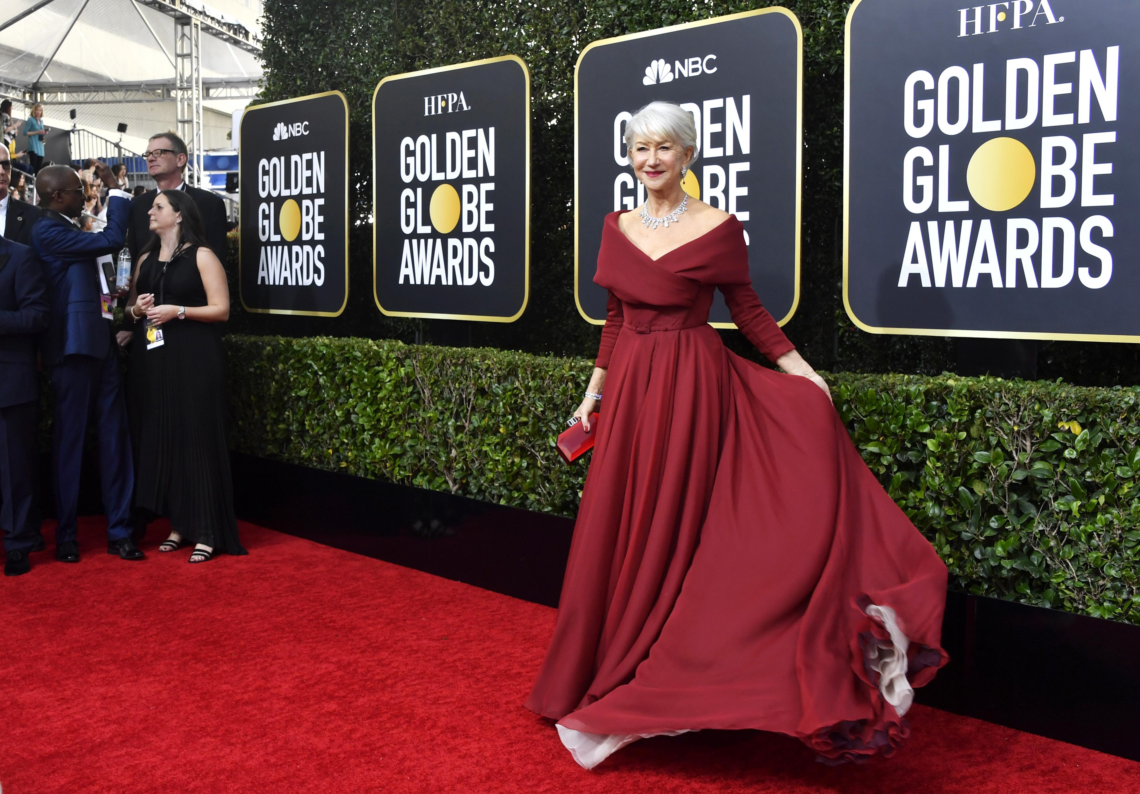 'Stunning looks' bij de Golden Globes