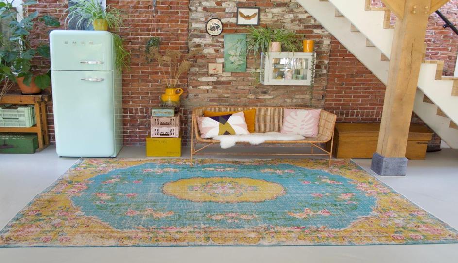 Vier redenen om te kiezen voor een vintage vloerkleed