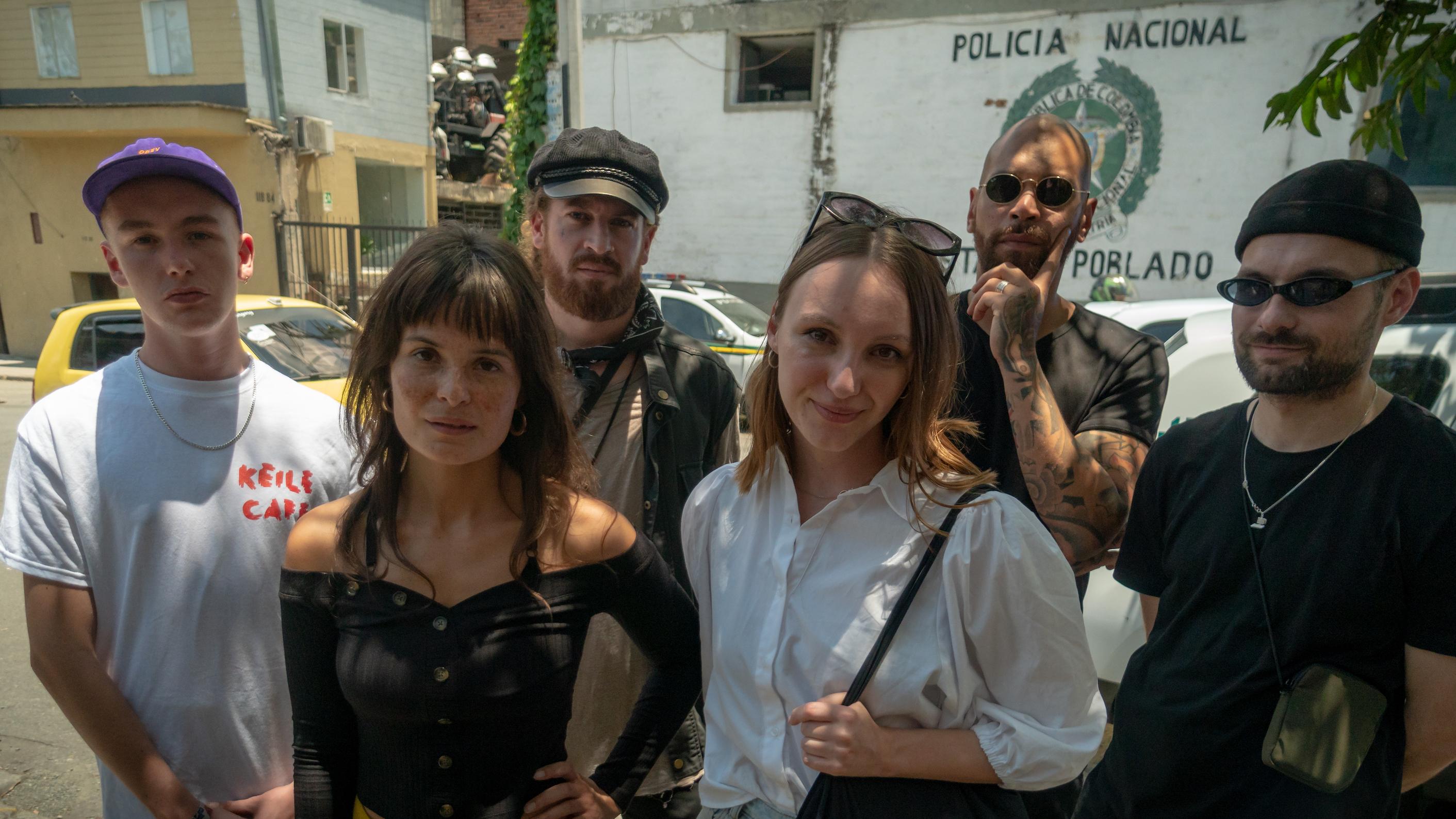 In gewelddadig Colombia op zoek naar 'het pakje plezier'