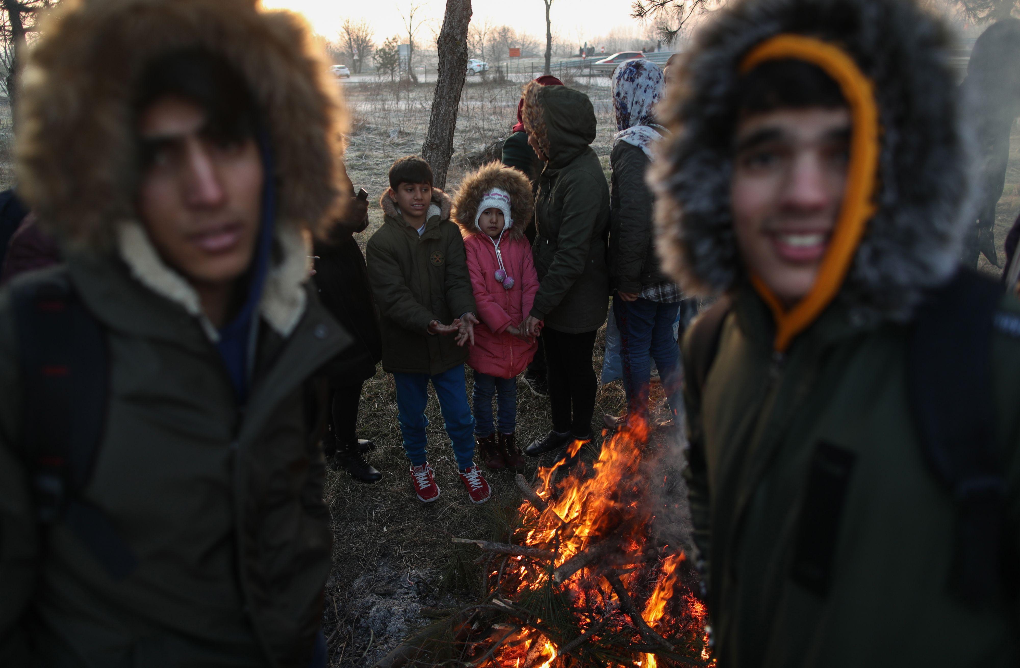 Rutte uit zorgen over situatie Grieks-Turkse grens.