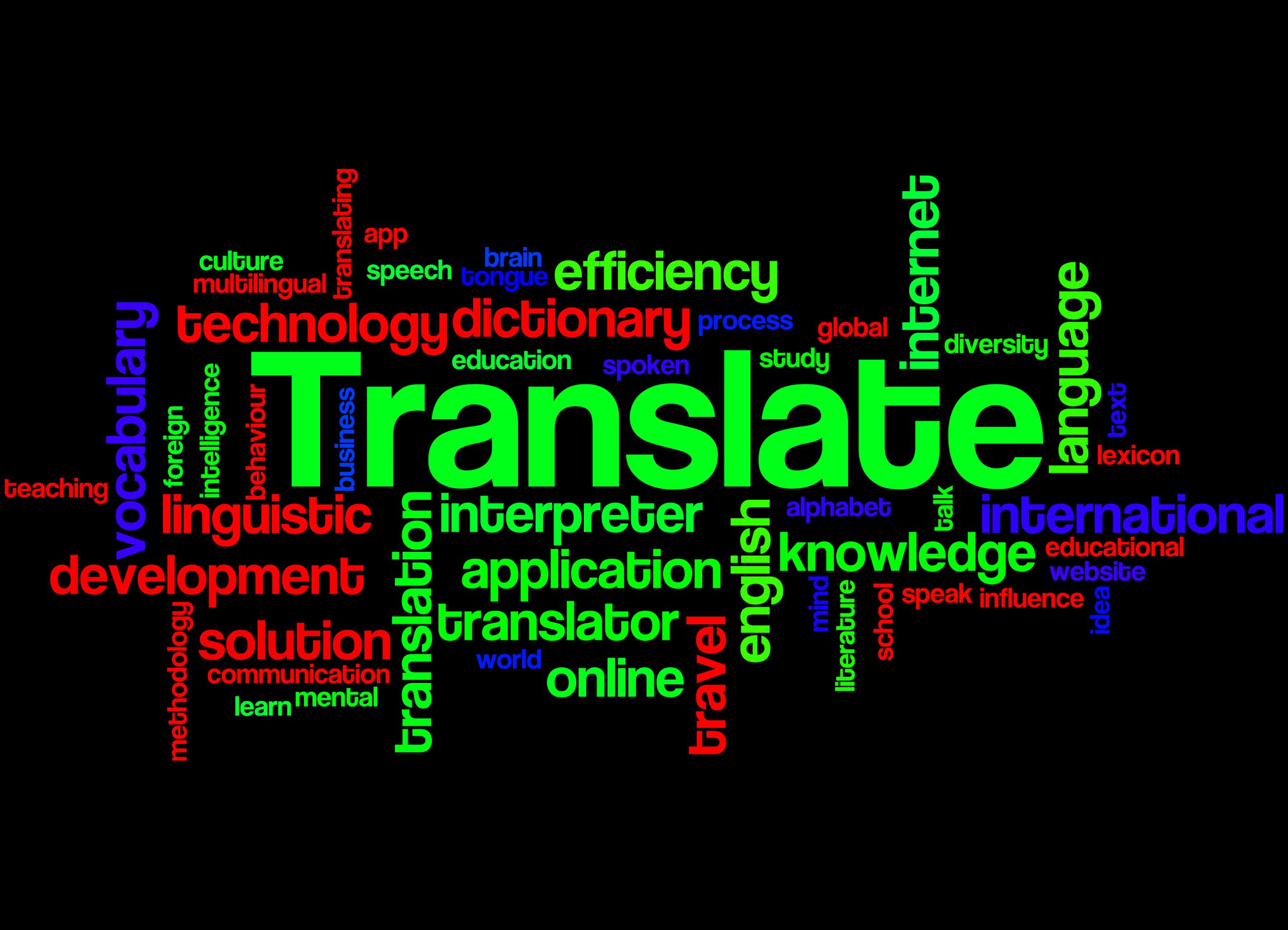 Vertalen anno 2020, is een vertaalbureau nog wel nodig?