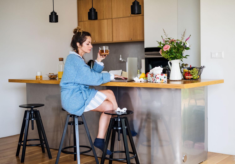 Vrimibo'en en flauwe kantoorhumor aan de keukentafel