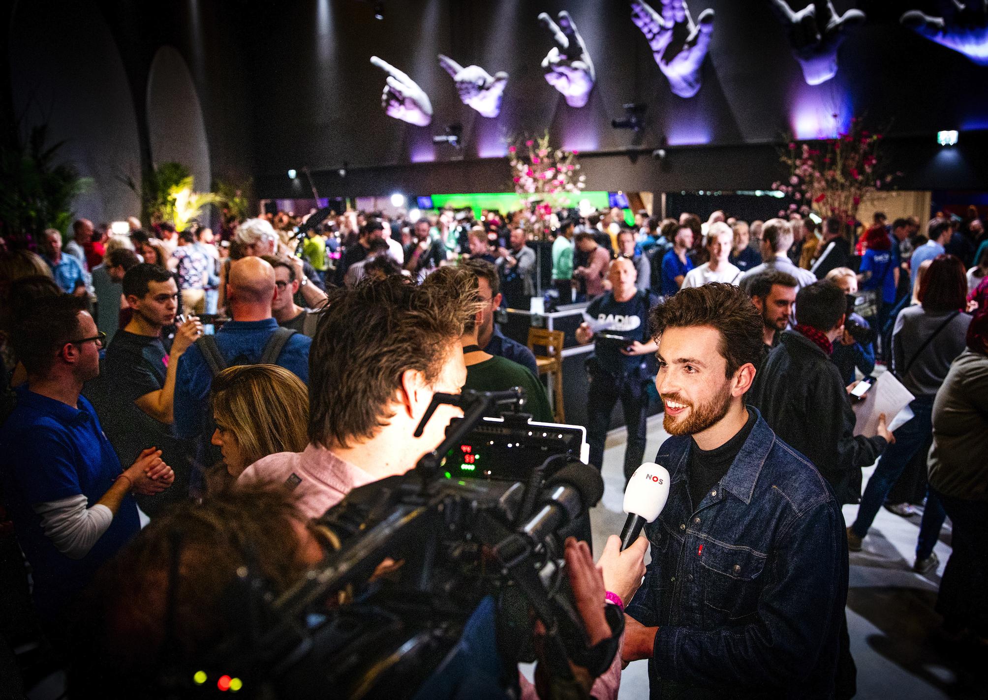 Eerste Songfestivalevent van de baan: 'Opties in kaart brengen'