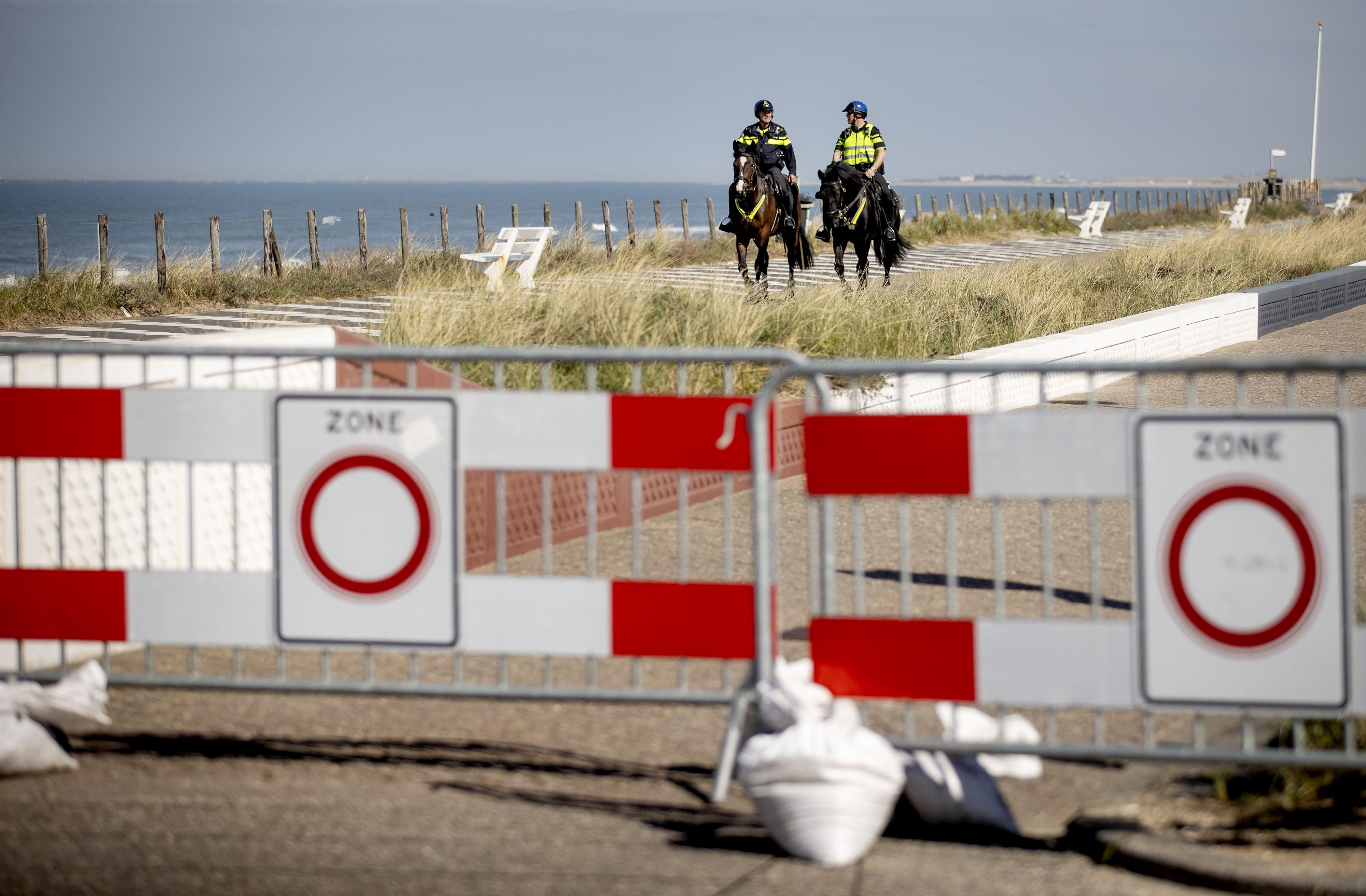 Nederland houdt zich keurig aan oproep thuis te blijven