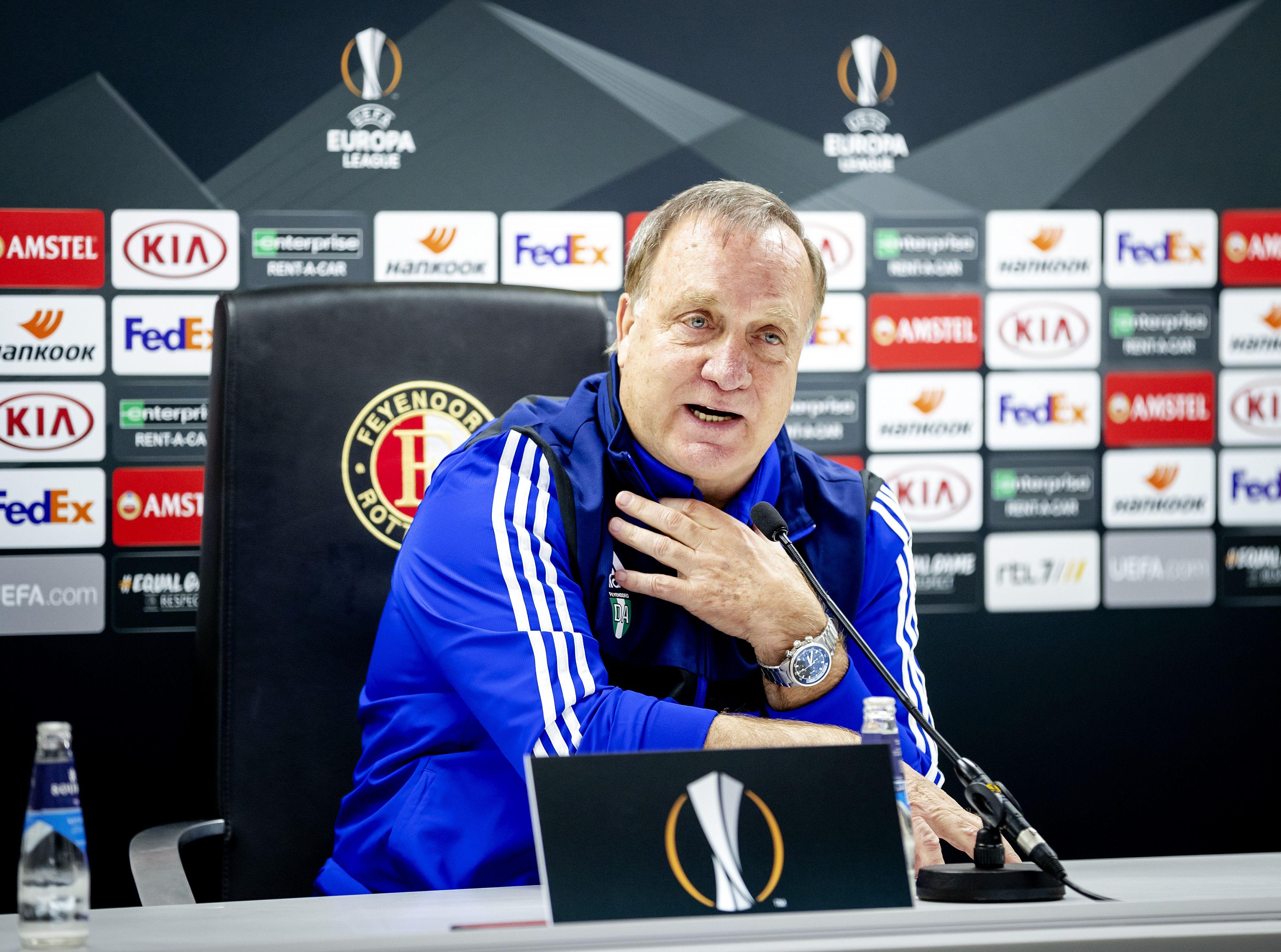 72 jaar, maar Dick blijft bij Feyenoord