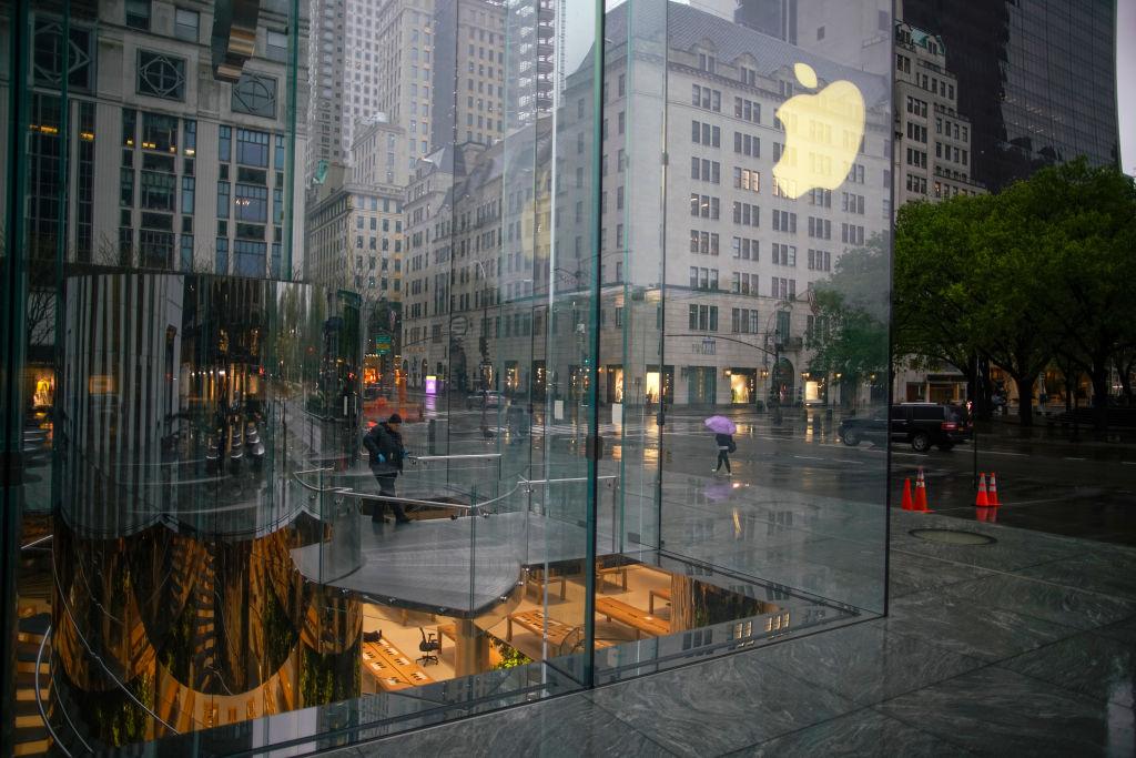 Applewinkels willen in Amerika weer open