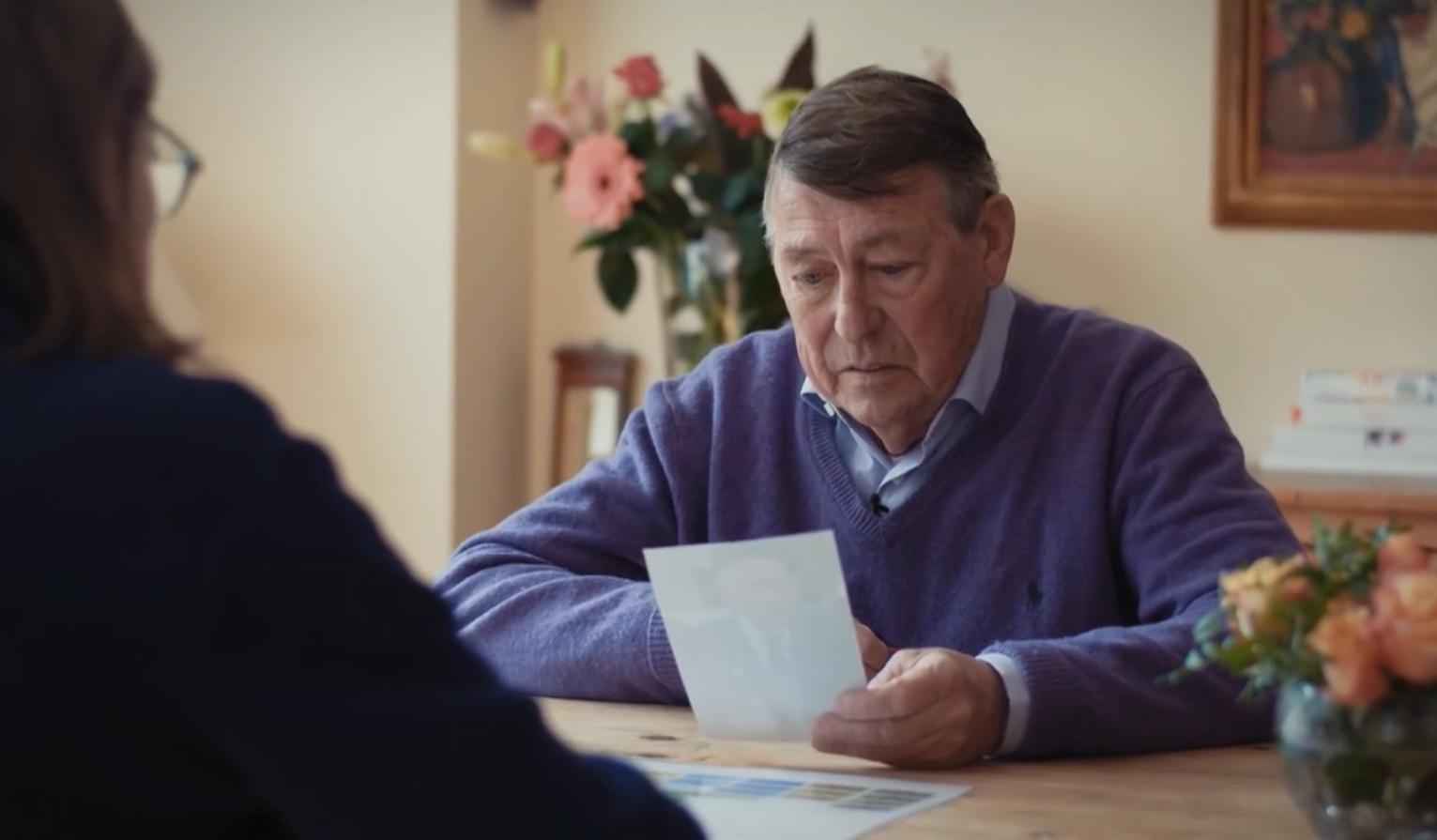 Na 75 jaar ontdekt oorlogskind Adri wie zijn vader is