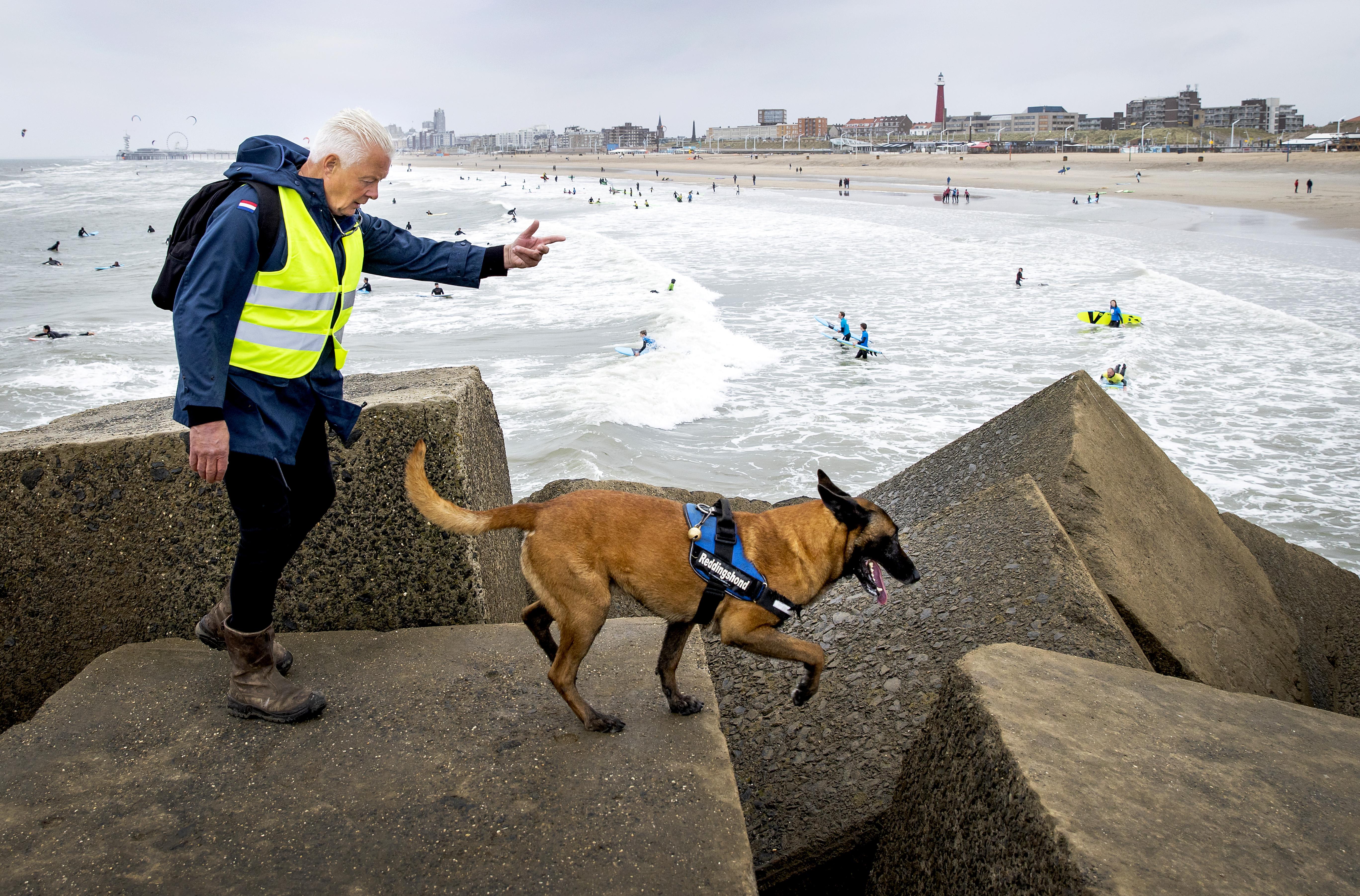 SAR Nederland zoekt lichaam vermiste surfer