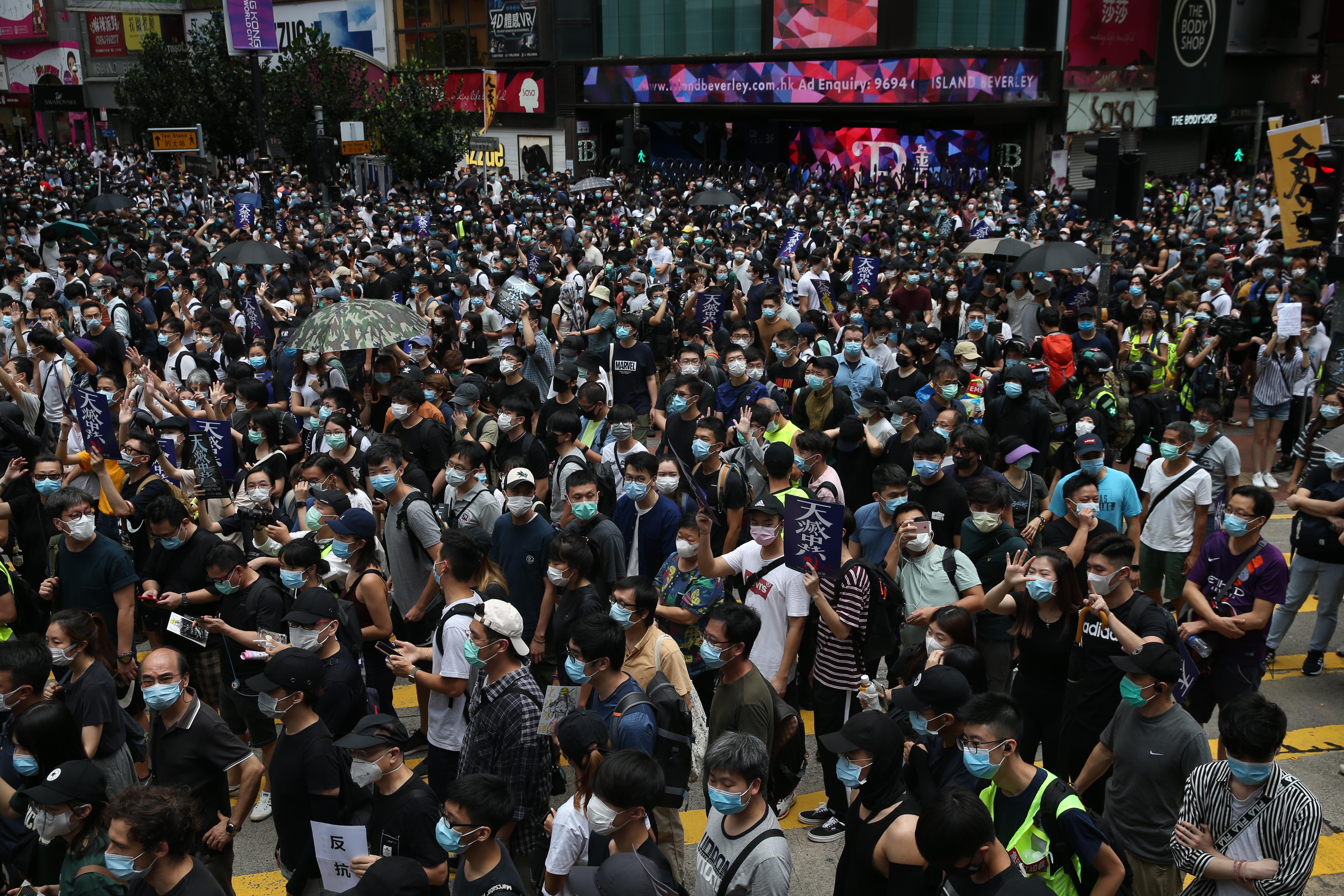 Betoging Hongkong