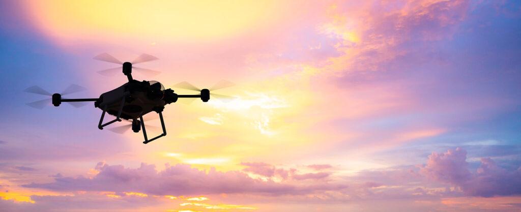 Een drone werd in Nederland ingezet voor vervoer van scheepsonderdelen in de Rotterdamse haven.