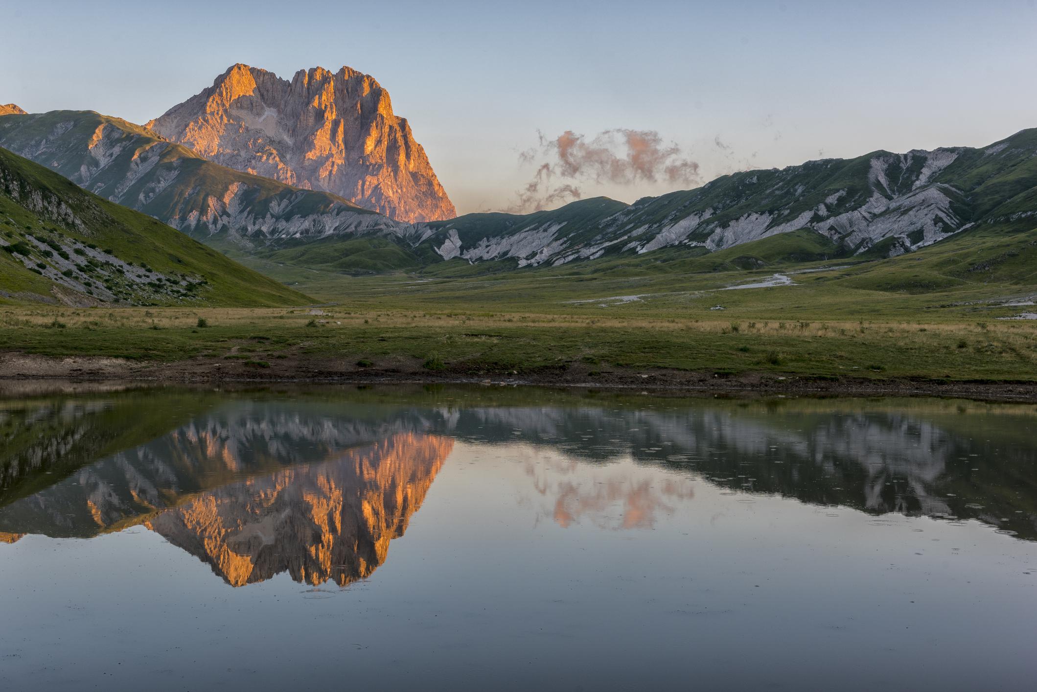 corno grande, gran sosso, wandelen, italie, reizen, vakantie, zomervakantie