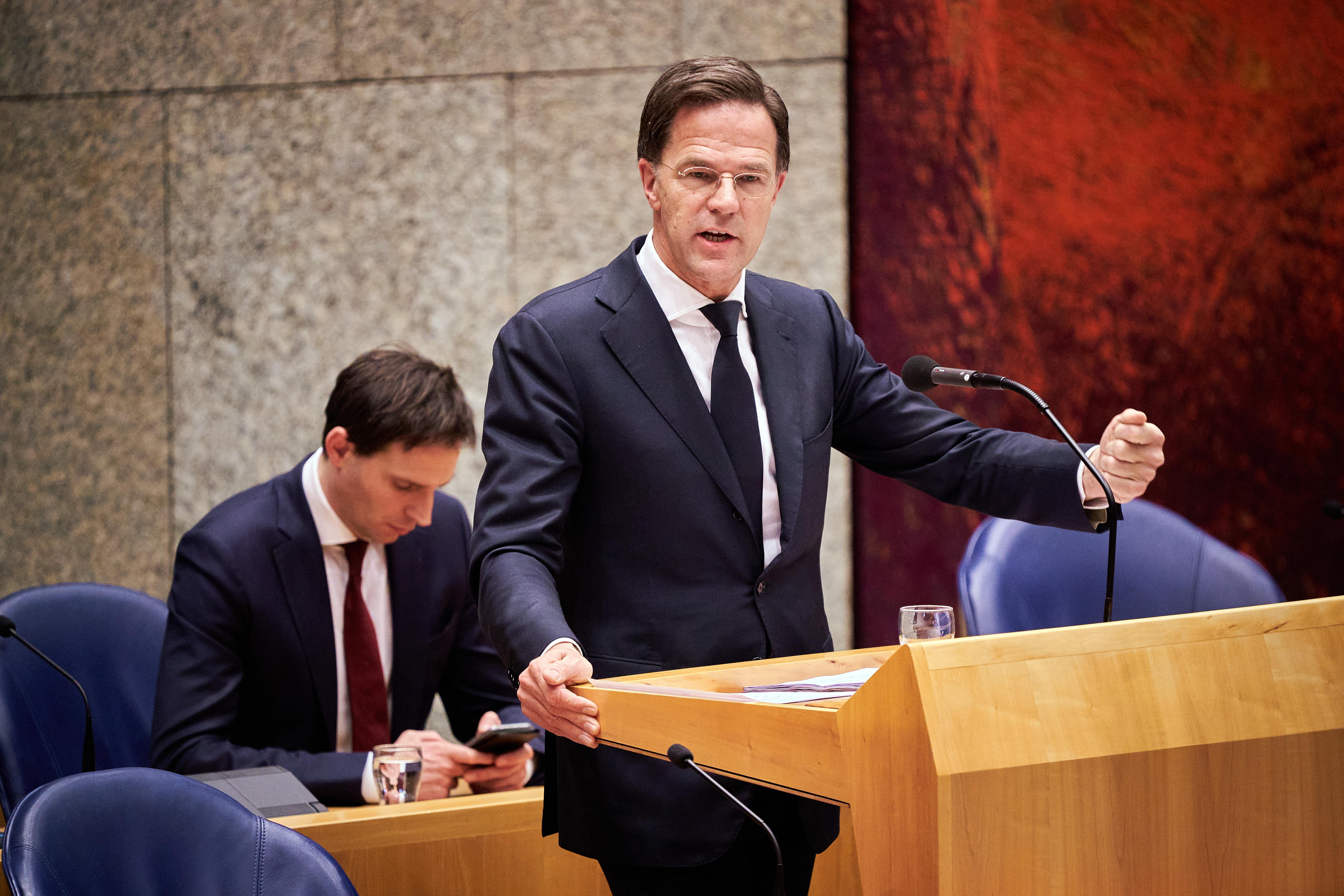 Rutte en De Jonge praten vandaag de Kamer bij.