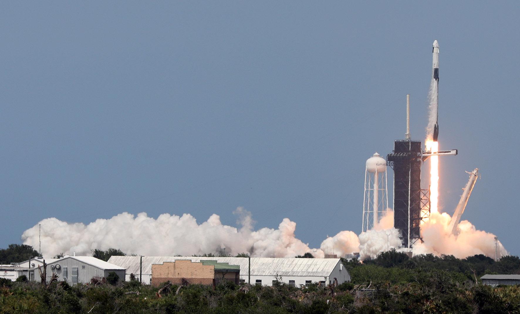 SpaceX lancering