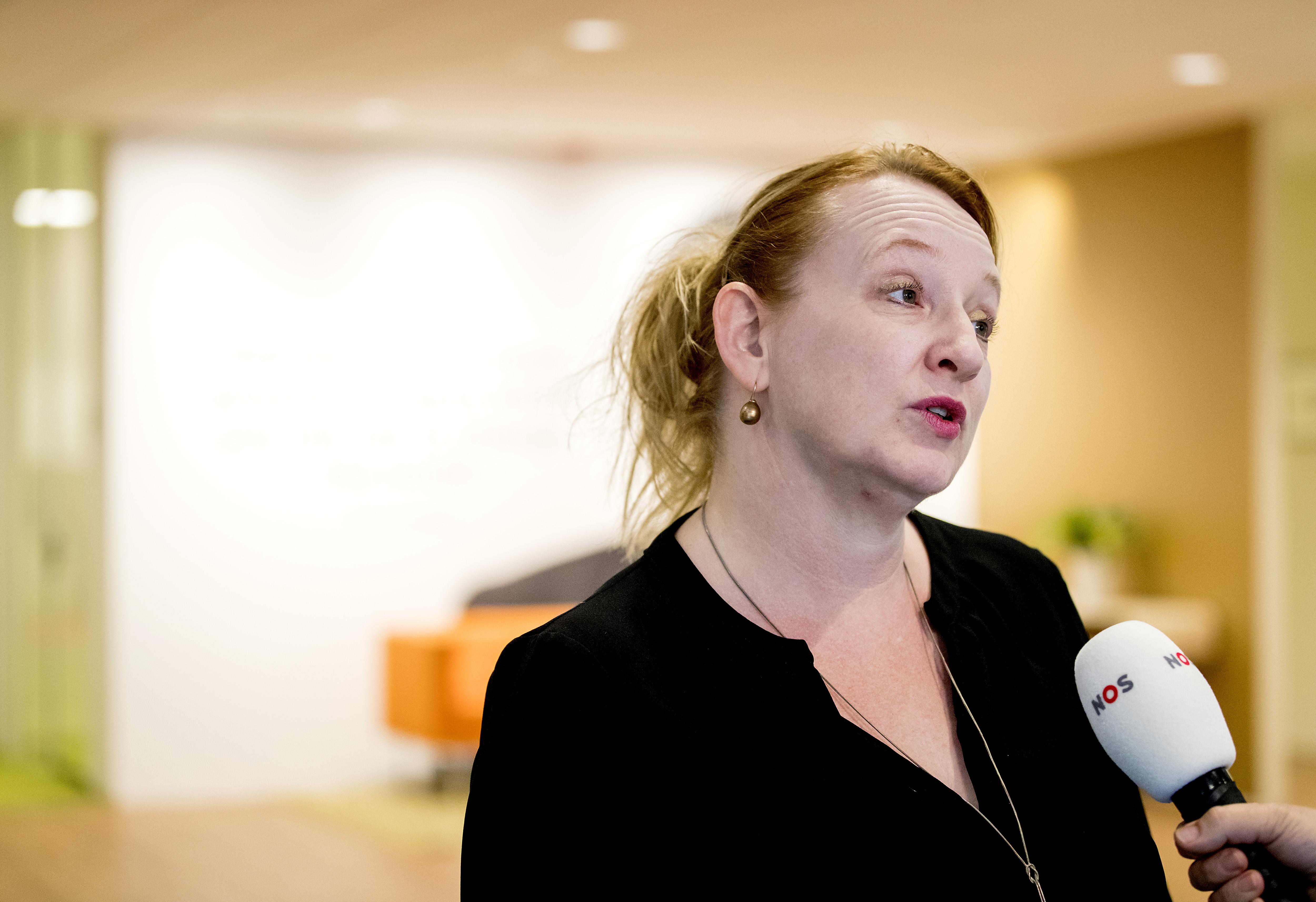 Een foto van Eugenie Stok van het AOb