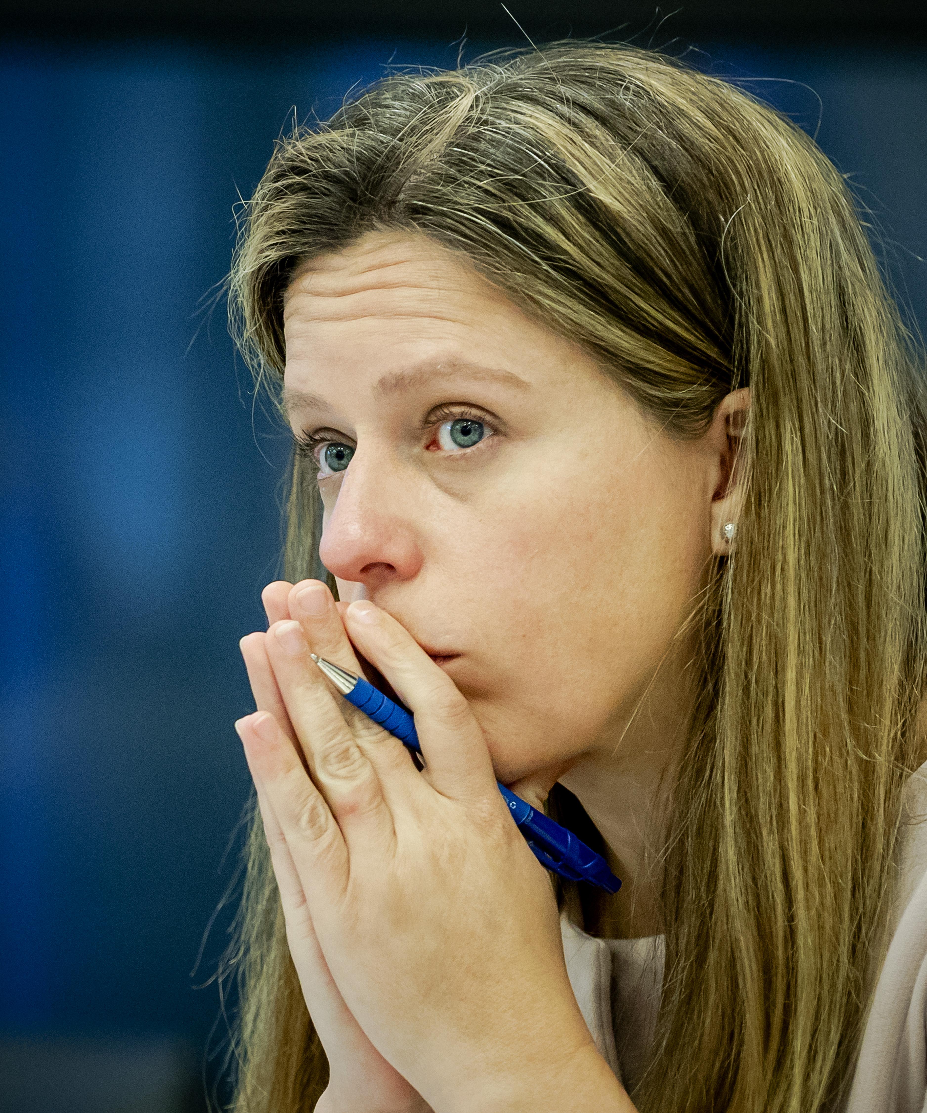 Een foto van minister Carola Schouten