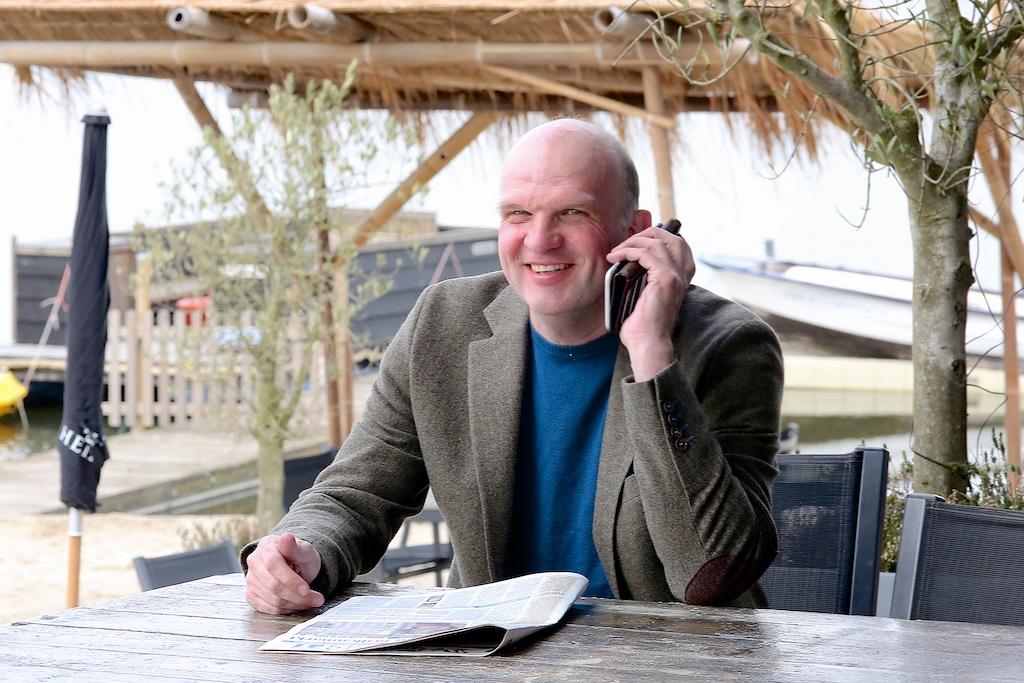 Een foto van ZZP-boekhouder Peter Brink