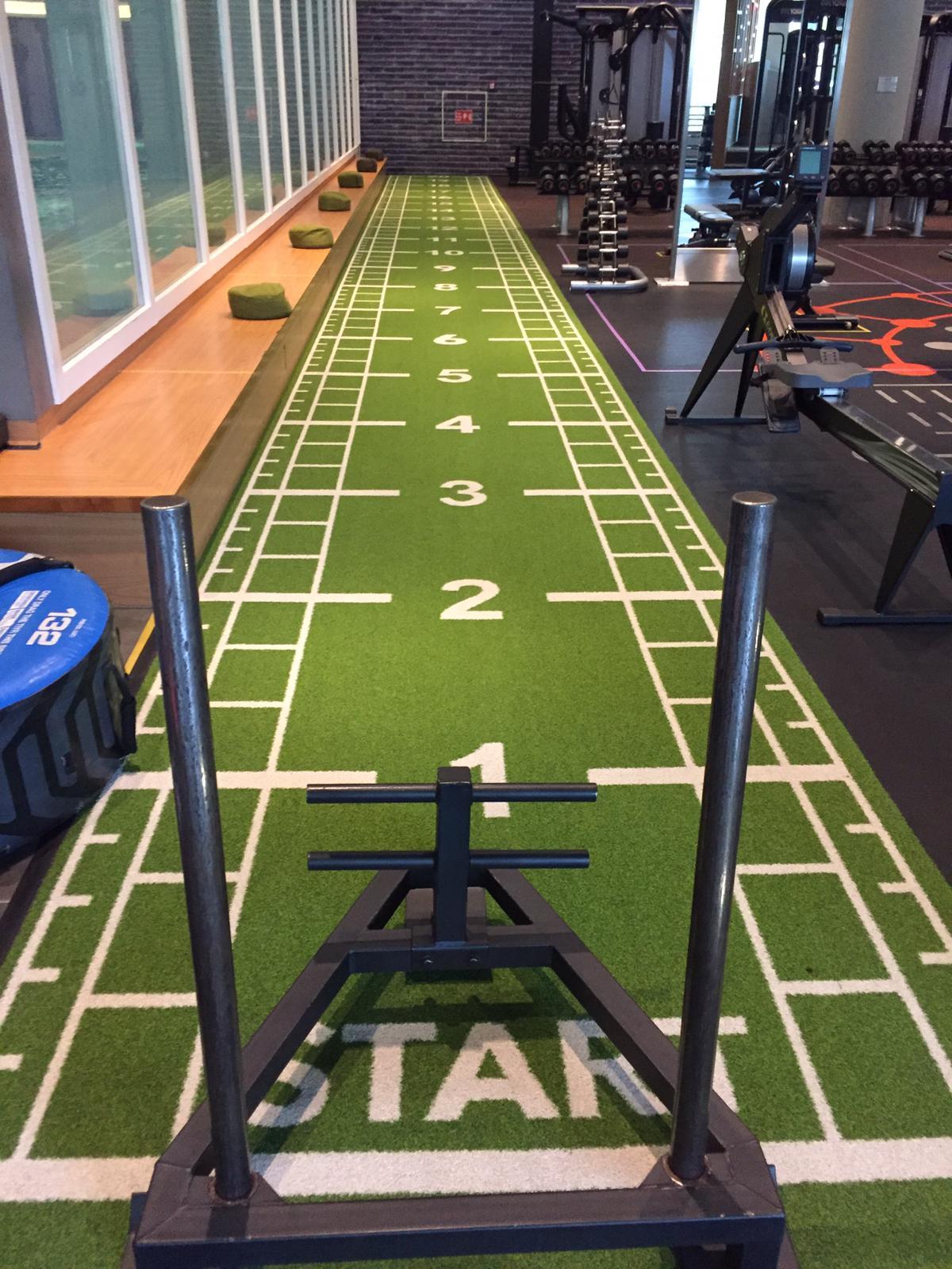 Foto van fitnessruimte