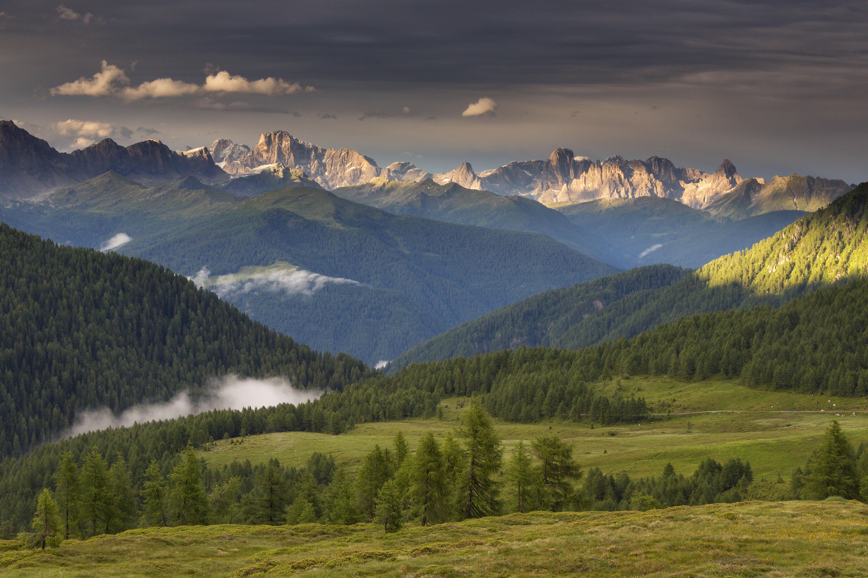 Foto van landschap in Trentino
