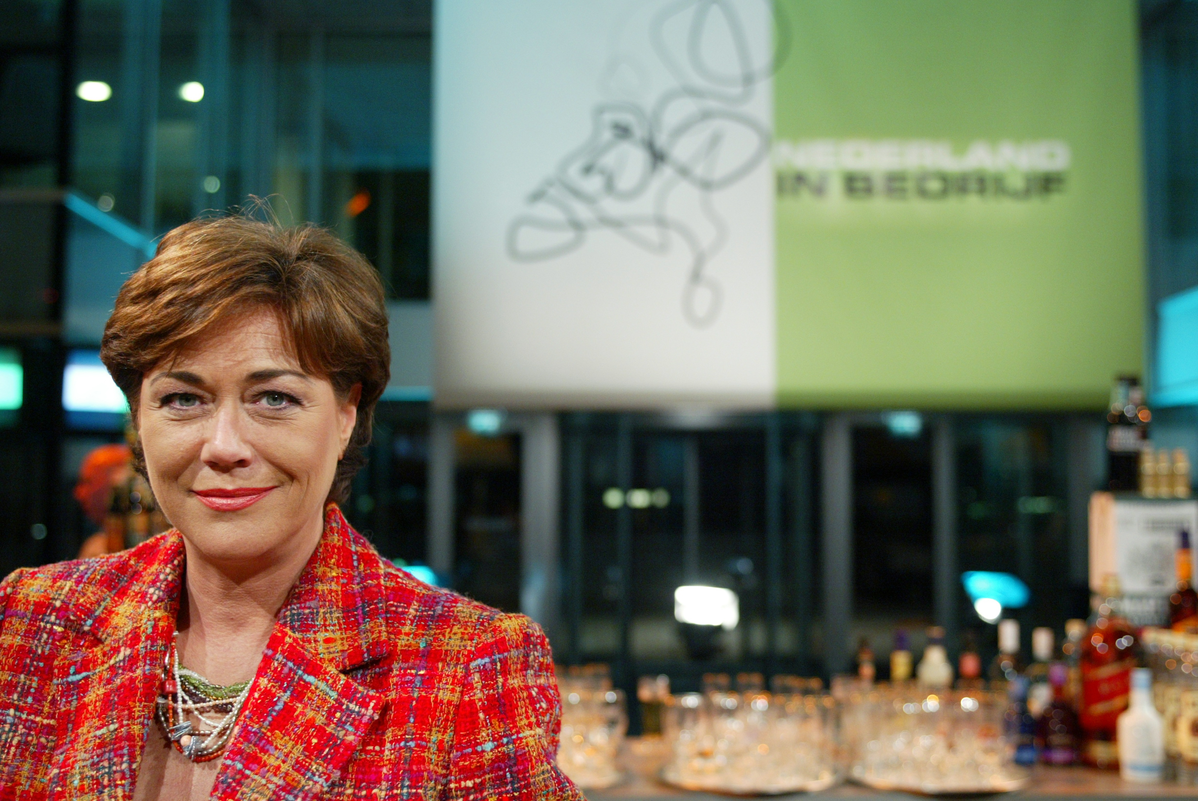 Presentatrice Tineke Verburg