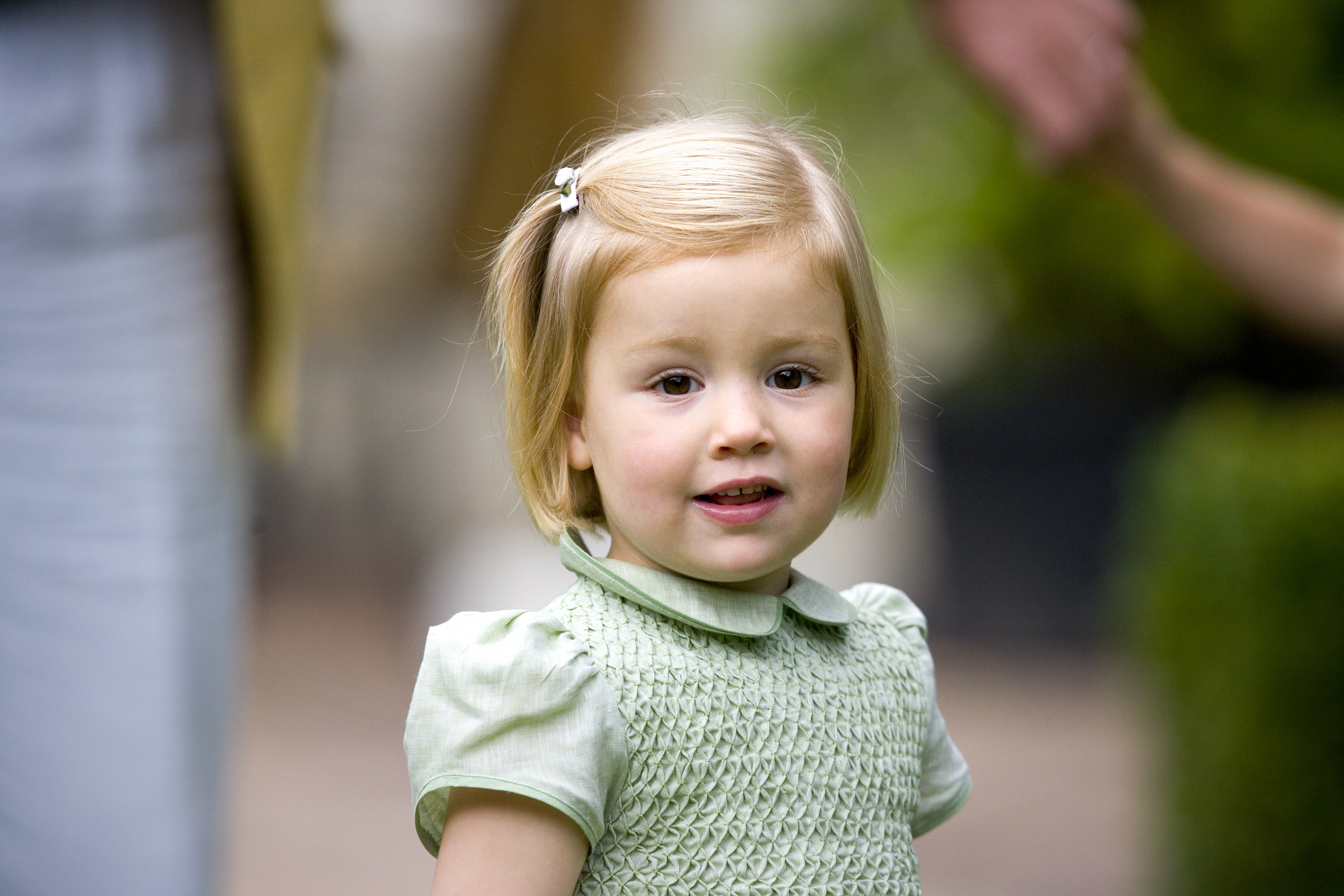 Prinses Alexia in 2008