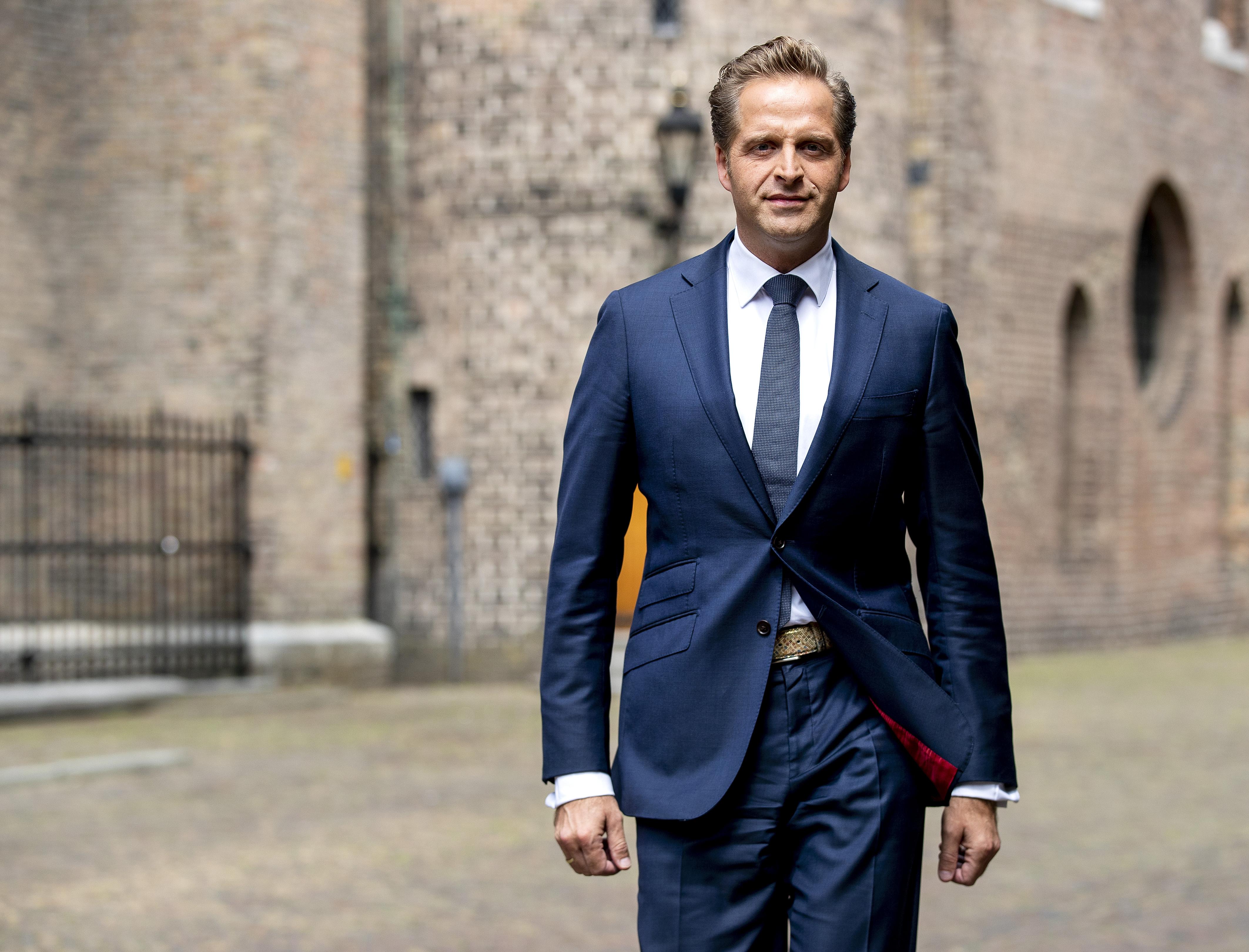 Een foto van vice-premier Hugo de Jonge
