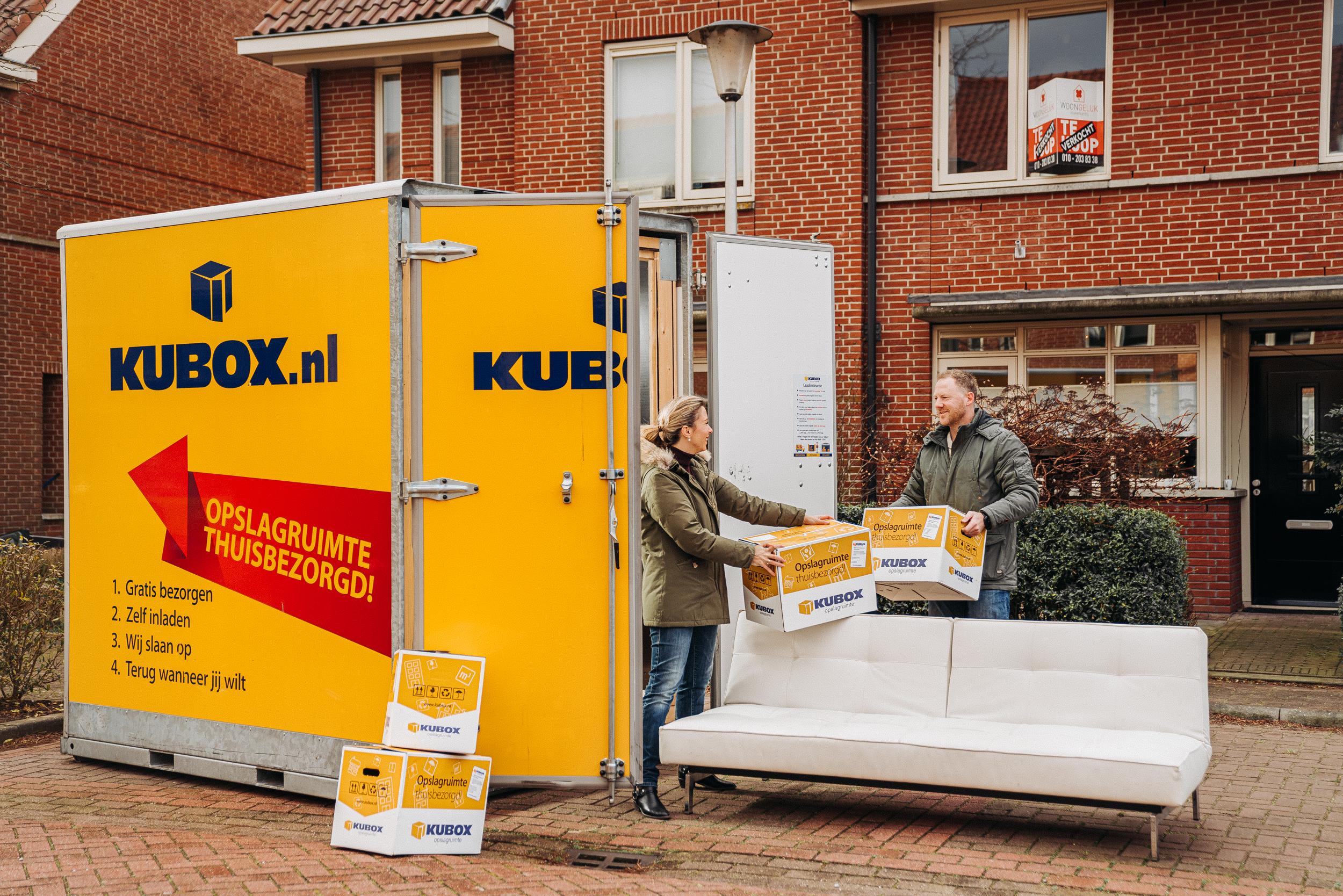 Een foto van de opslagbox Kubox