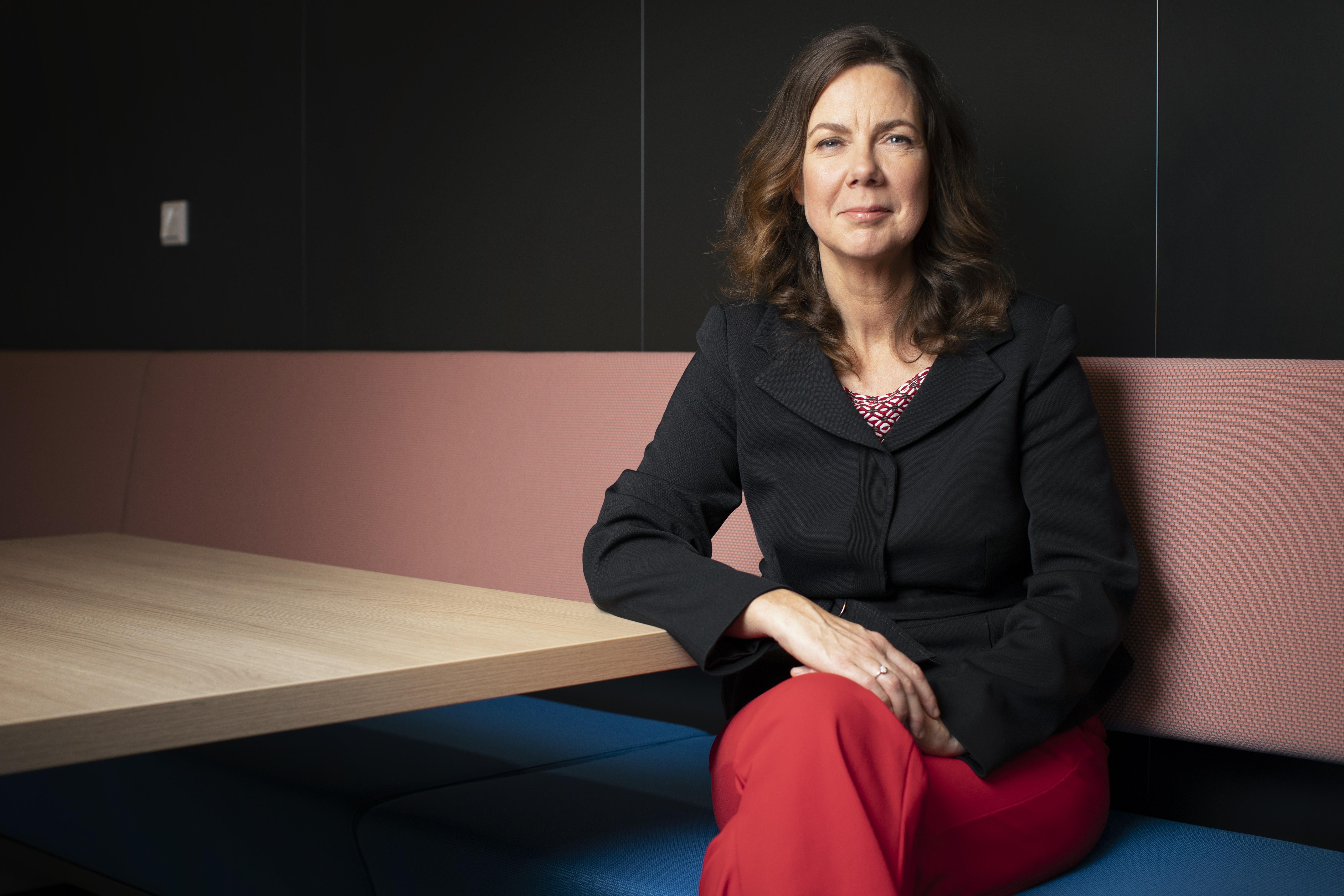 Een foto van Sandra Molenaar, directeur van de Consumentenbond