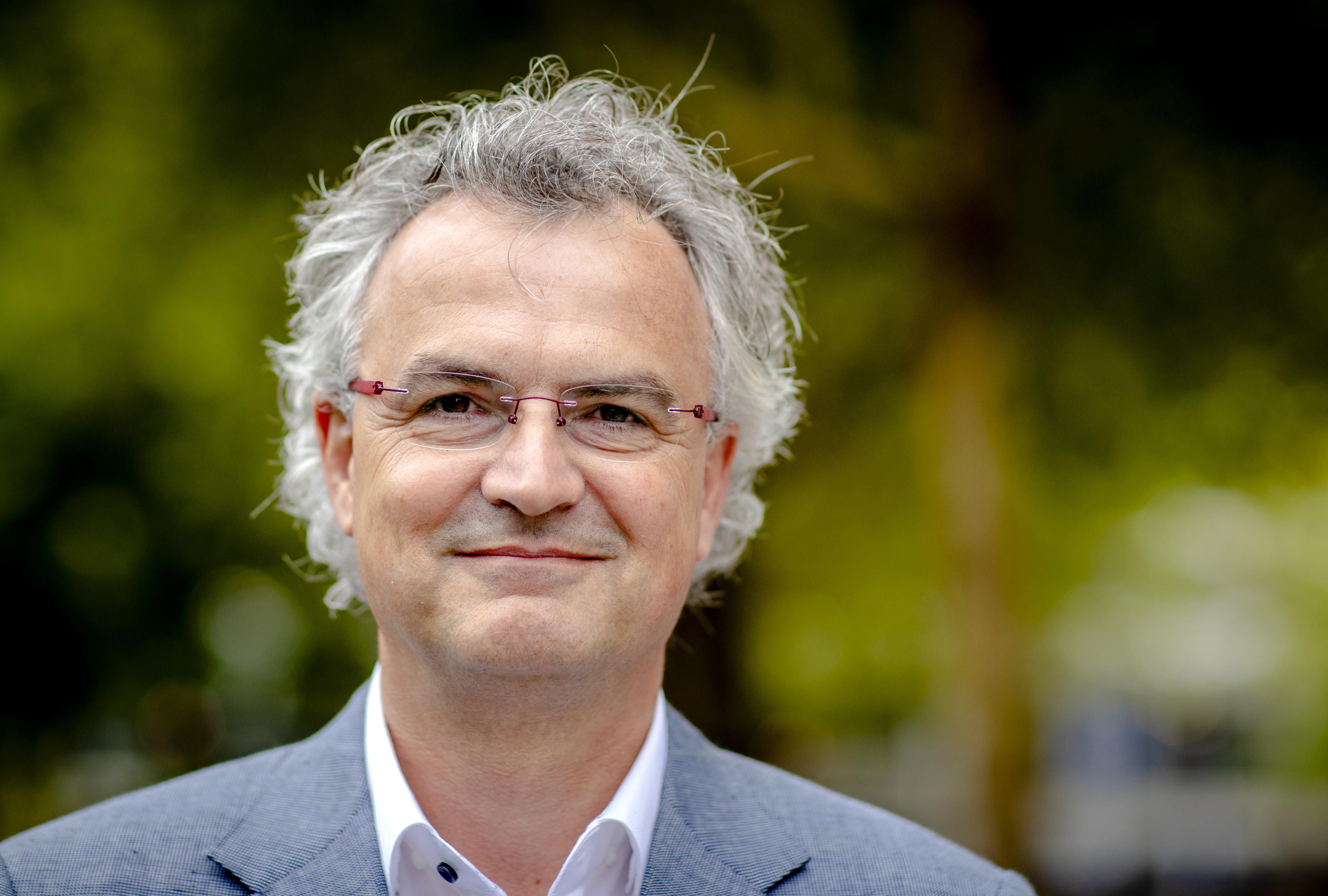 Een foto van Johan van de Gronden van het KWF