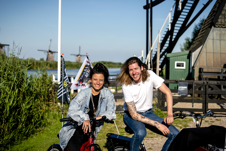 Een foto van Frank van der Lende en Eva Koreman