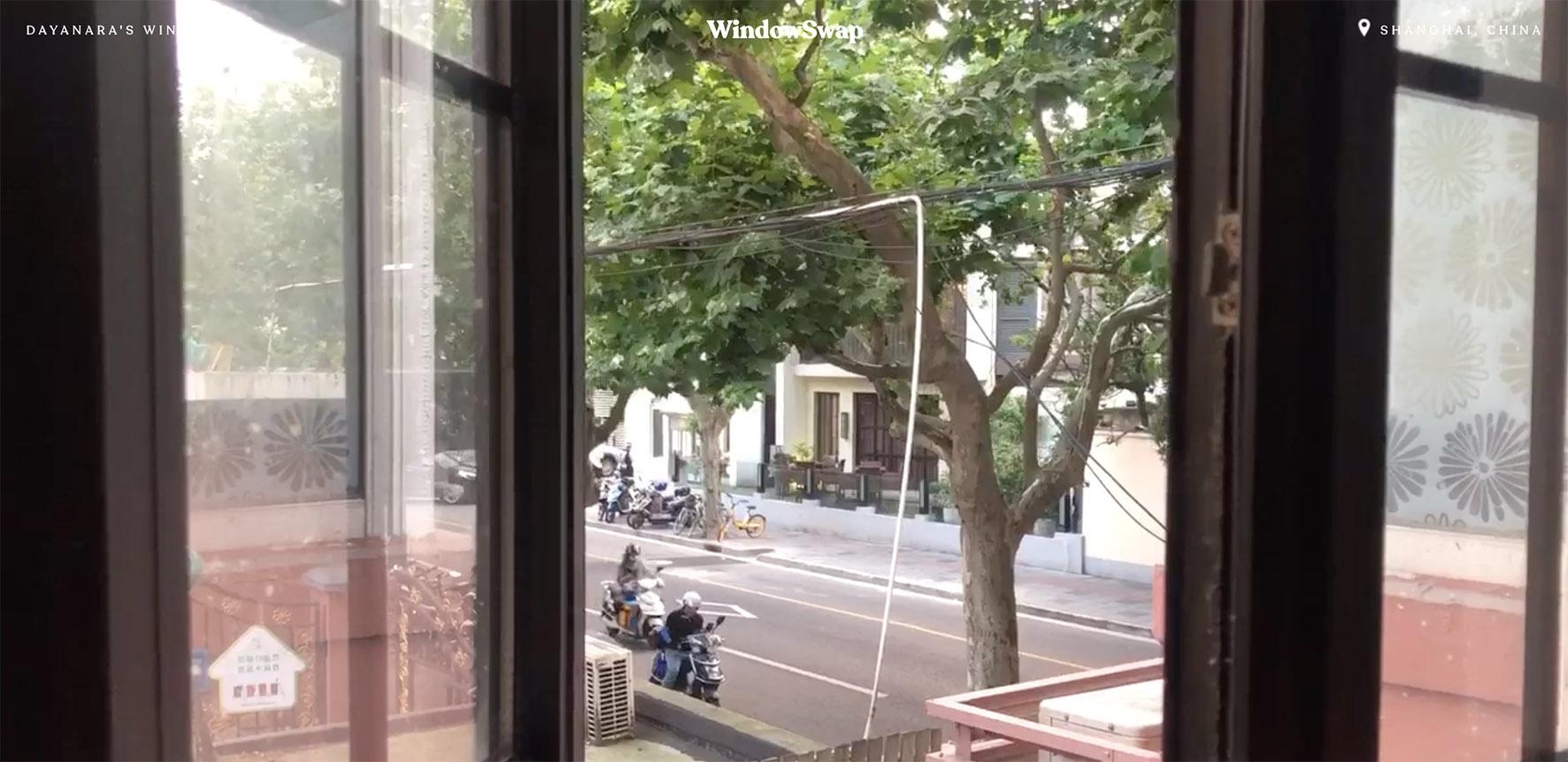 Op deze foto zie je een window in China