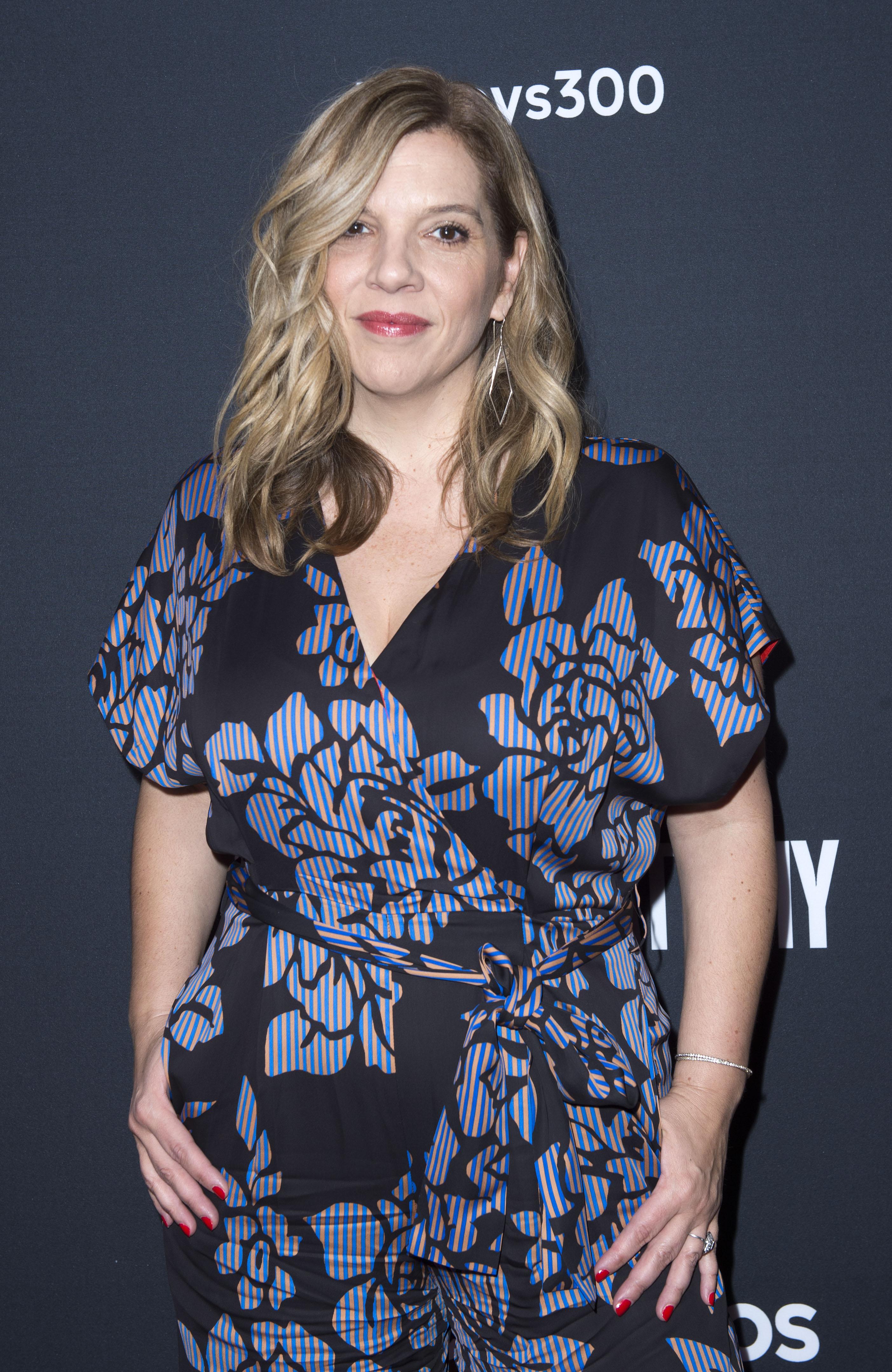 Een foto van Grey's Anatomy-producent Krista Vernoff.