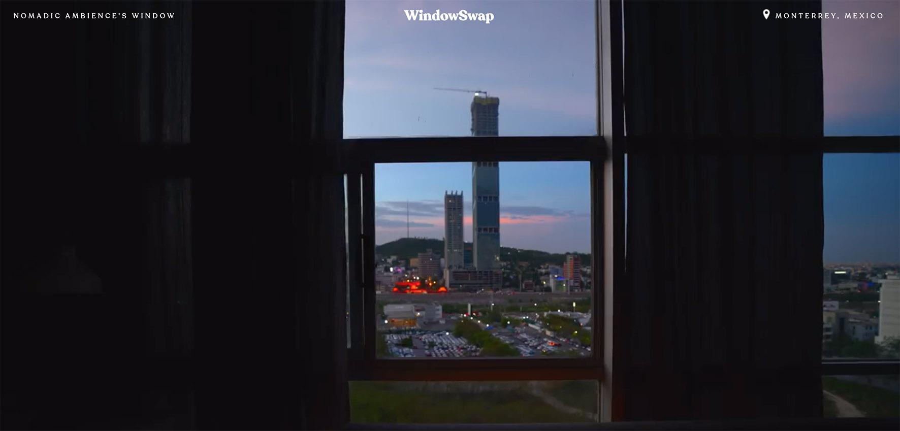 Op deze foto zie je een window in Mexico