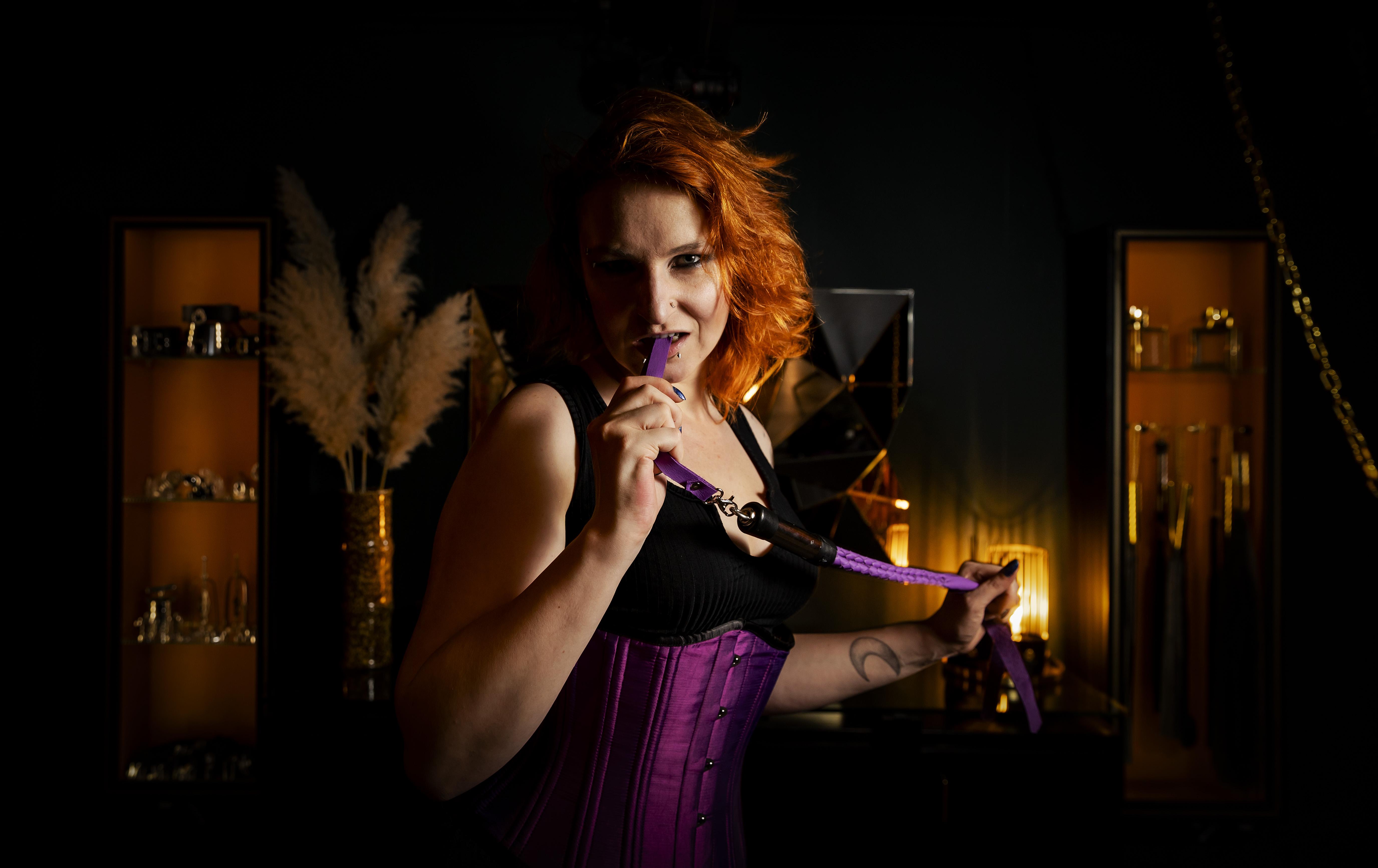 Een foto van sekswerker Moira Mona