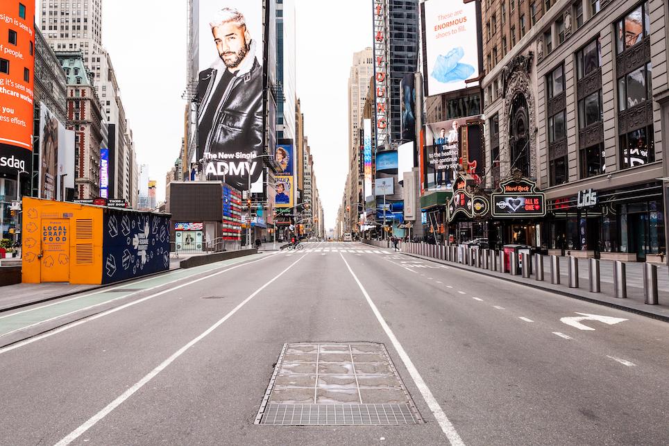 Een foto van Times Square