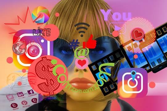 Een foto van een blogger