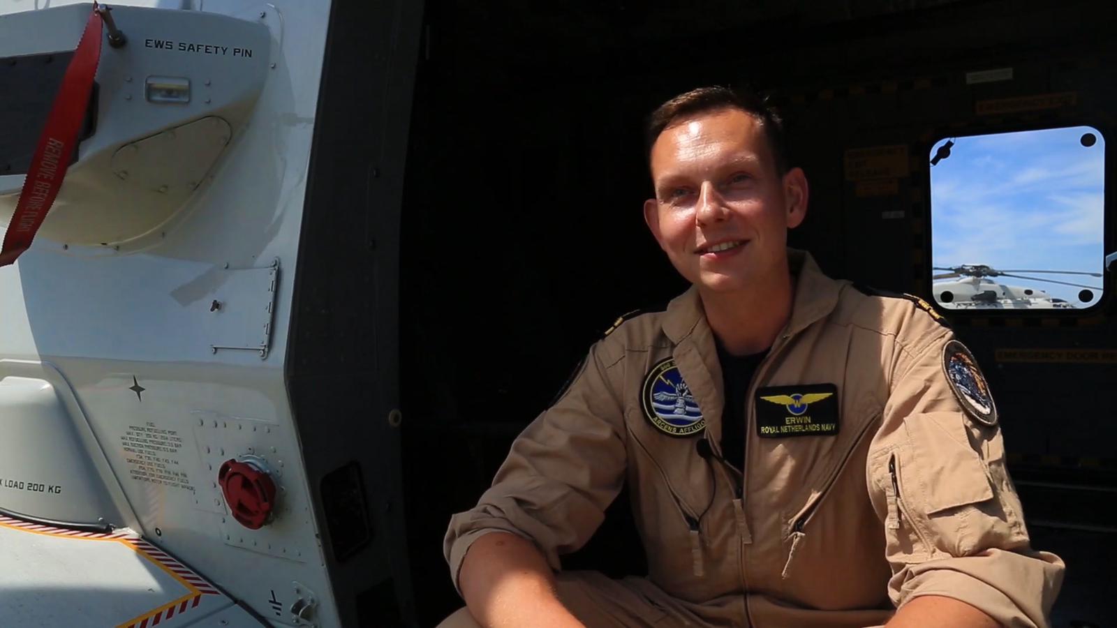 Luitenant ter zee der tweede klasse oudste categorie, Erwin Warnies, is een van de omgekomen bemanningsleden van de gecrashte helikopter bij Aruba.
