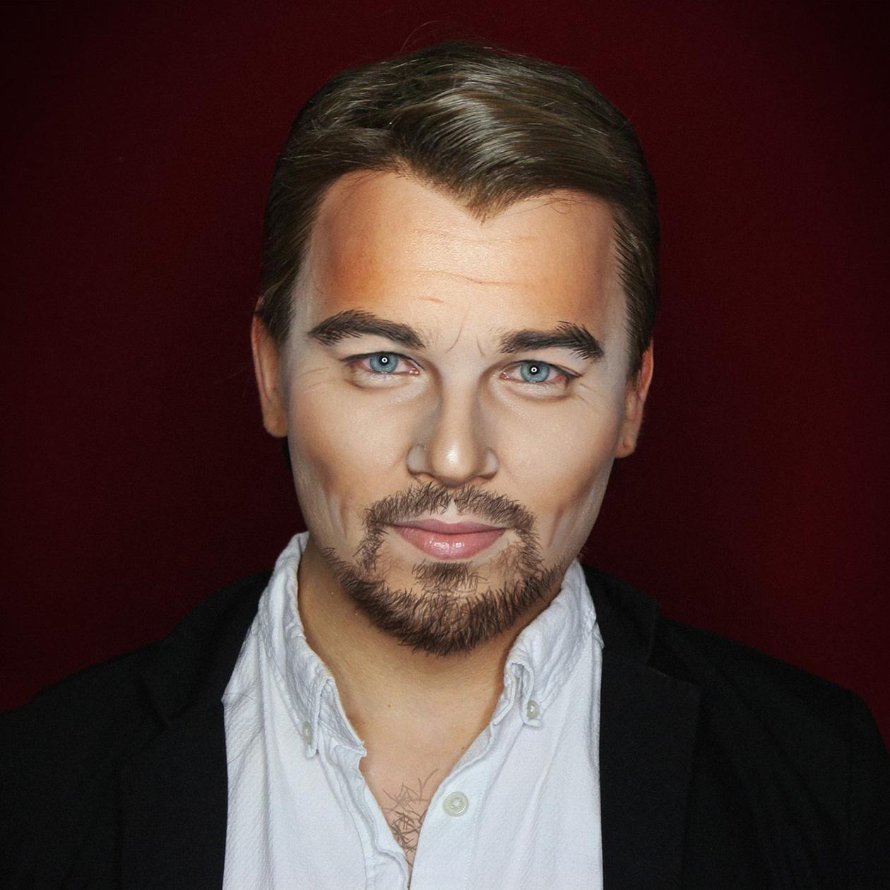 Een foto van Elliot als Leonardo DiCaprio