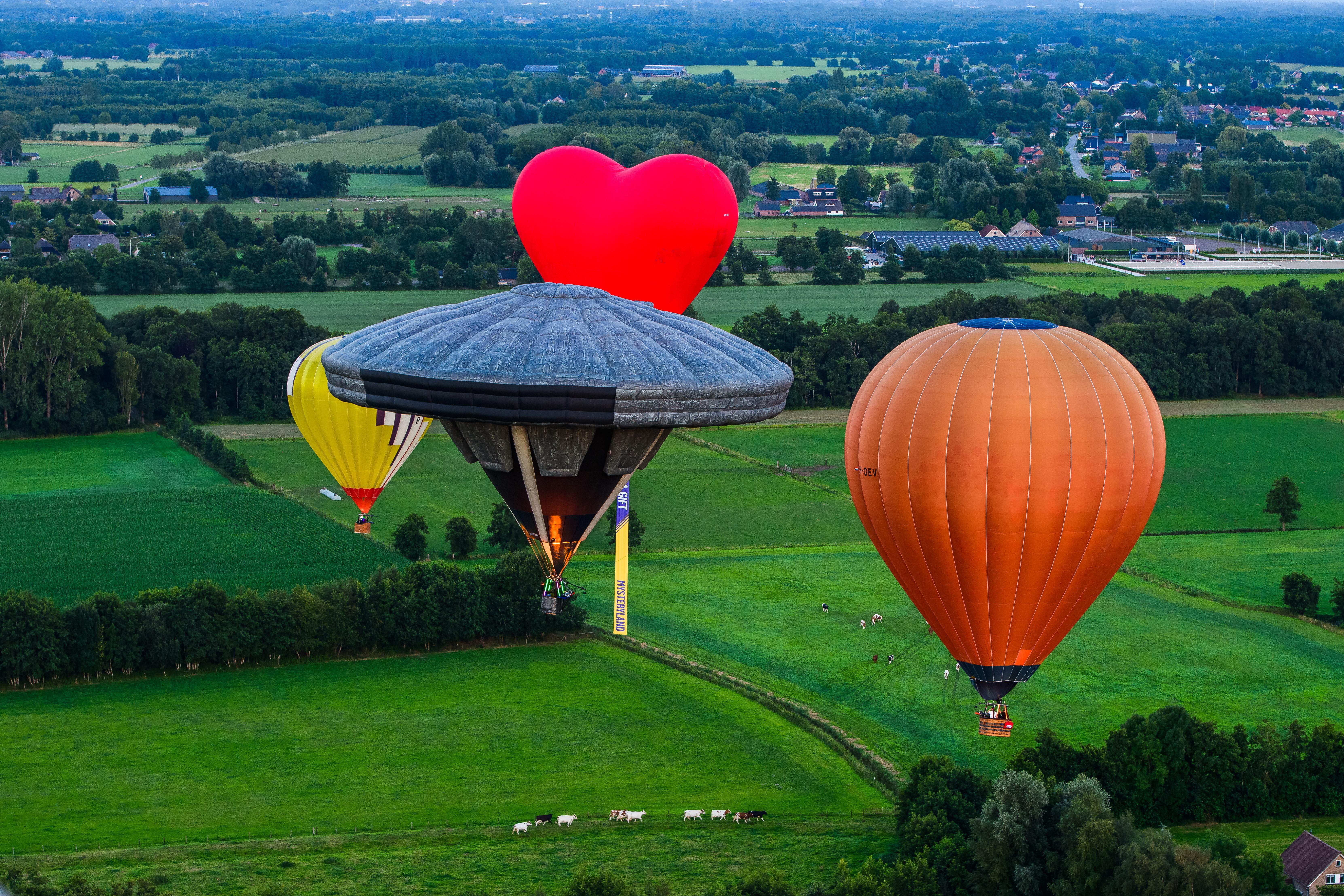 Foto van luchtballons