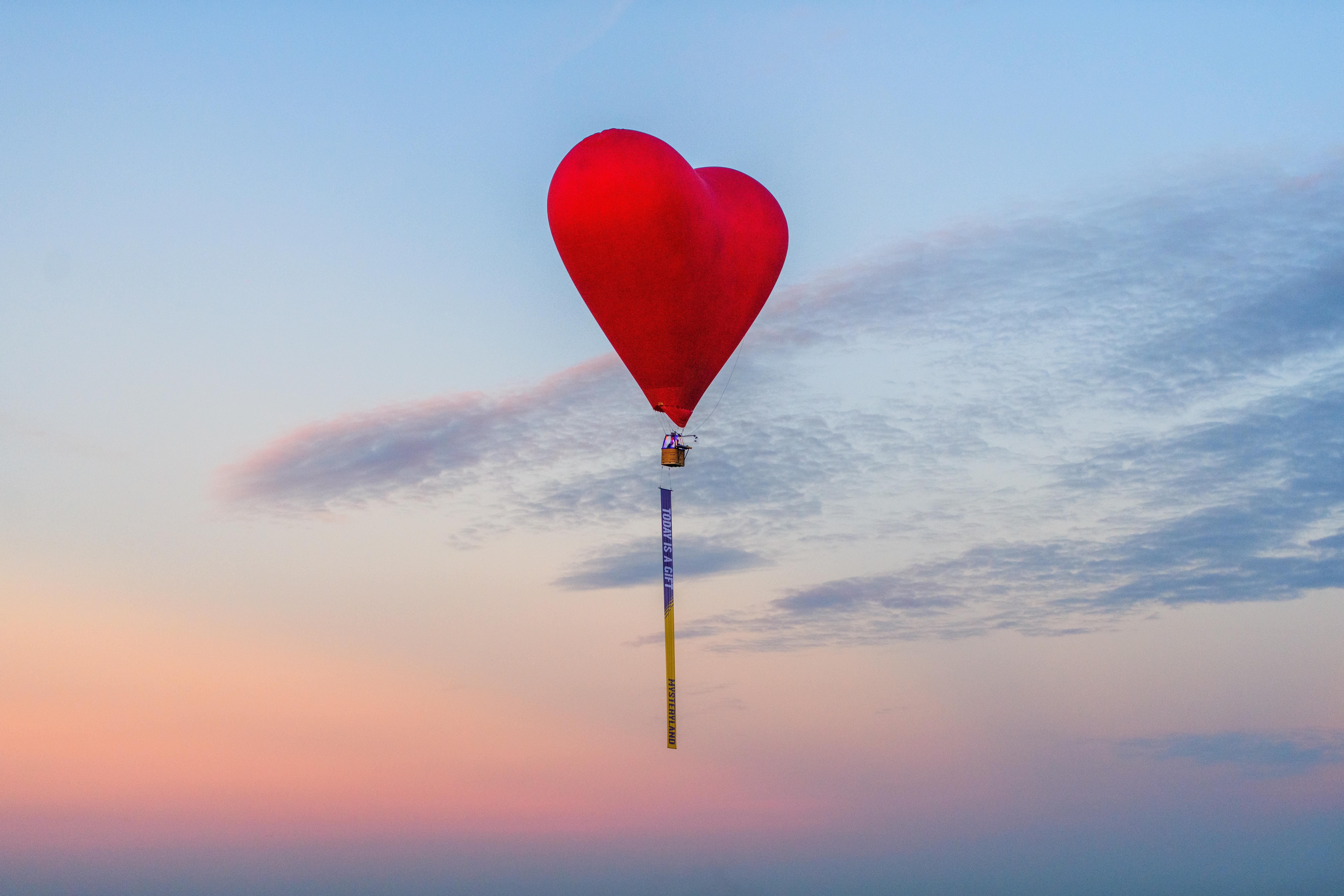 Foto van luchtballon