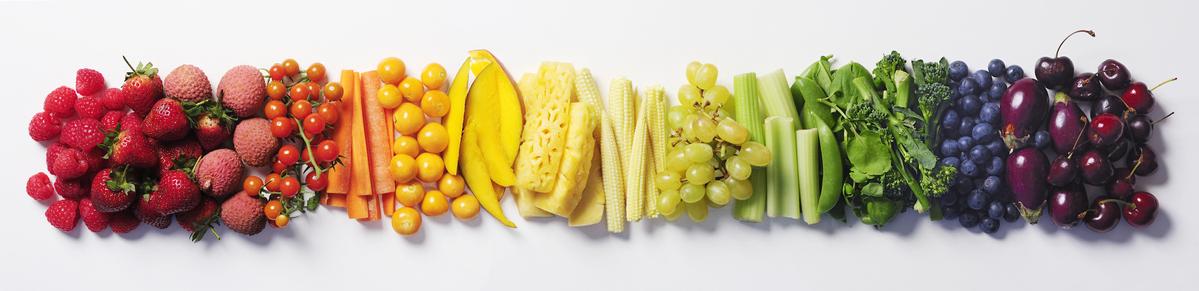 foto van heel veel groente en fruit
