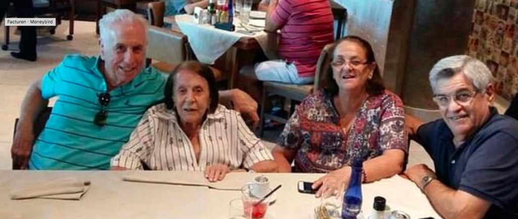 De familie van Ada Adelia Giovine