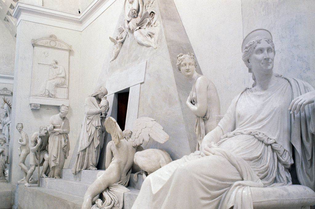 Een foto van het Gipsoteca Museum