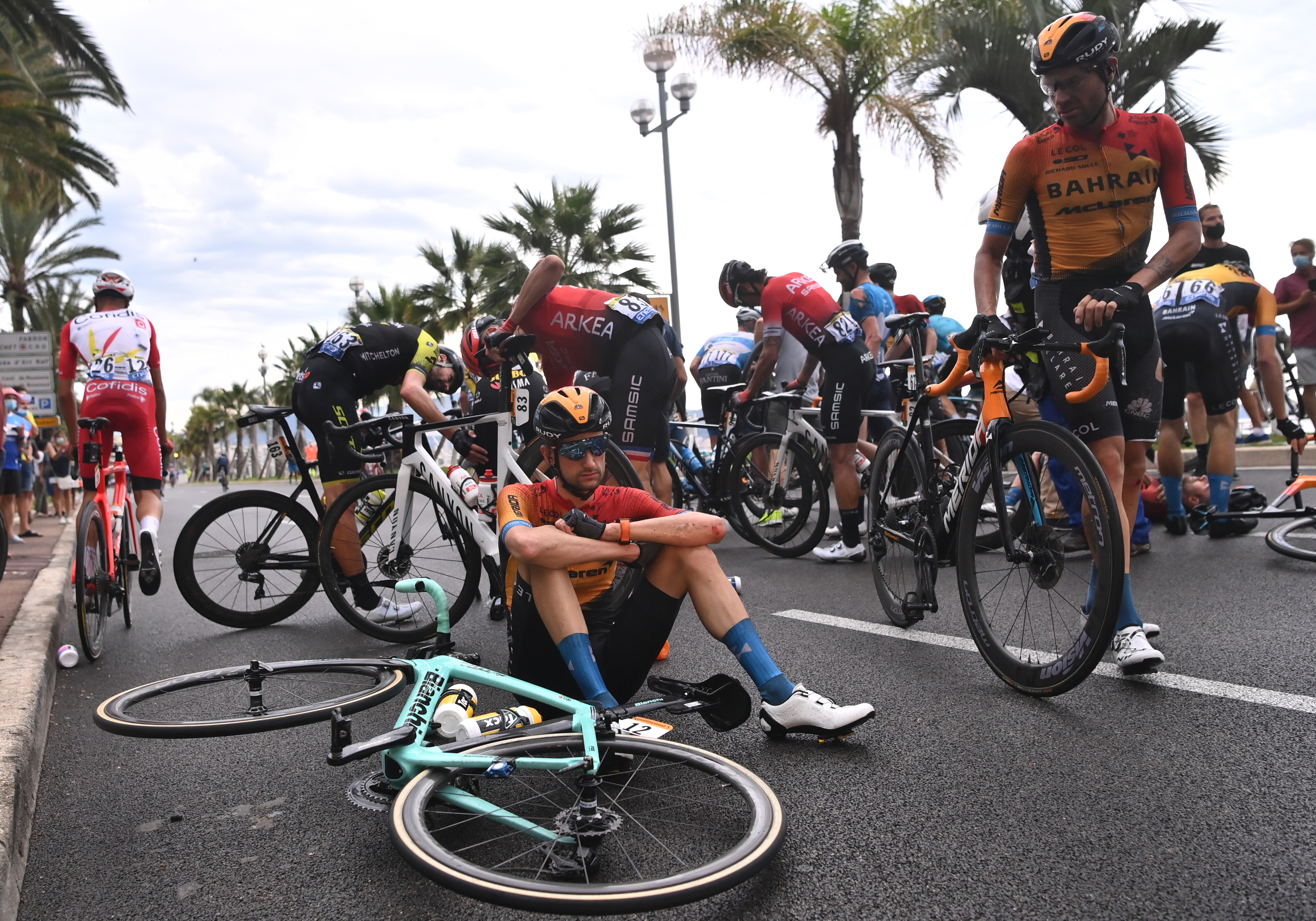 Foto van de Tour de France