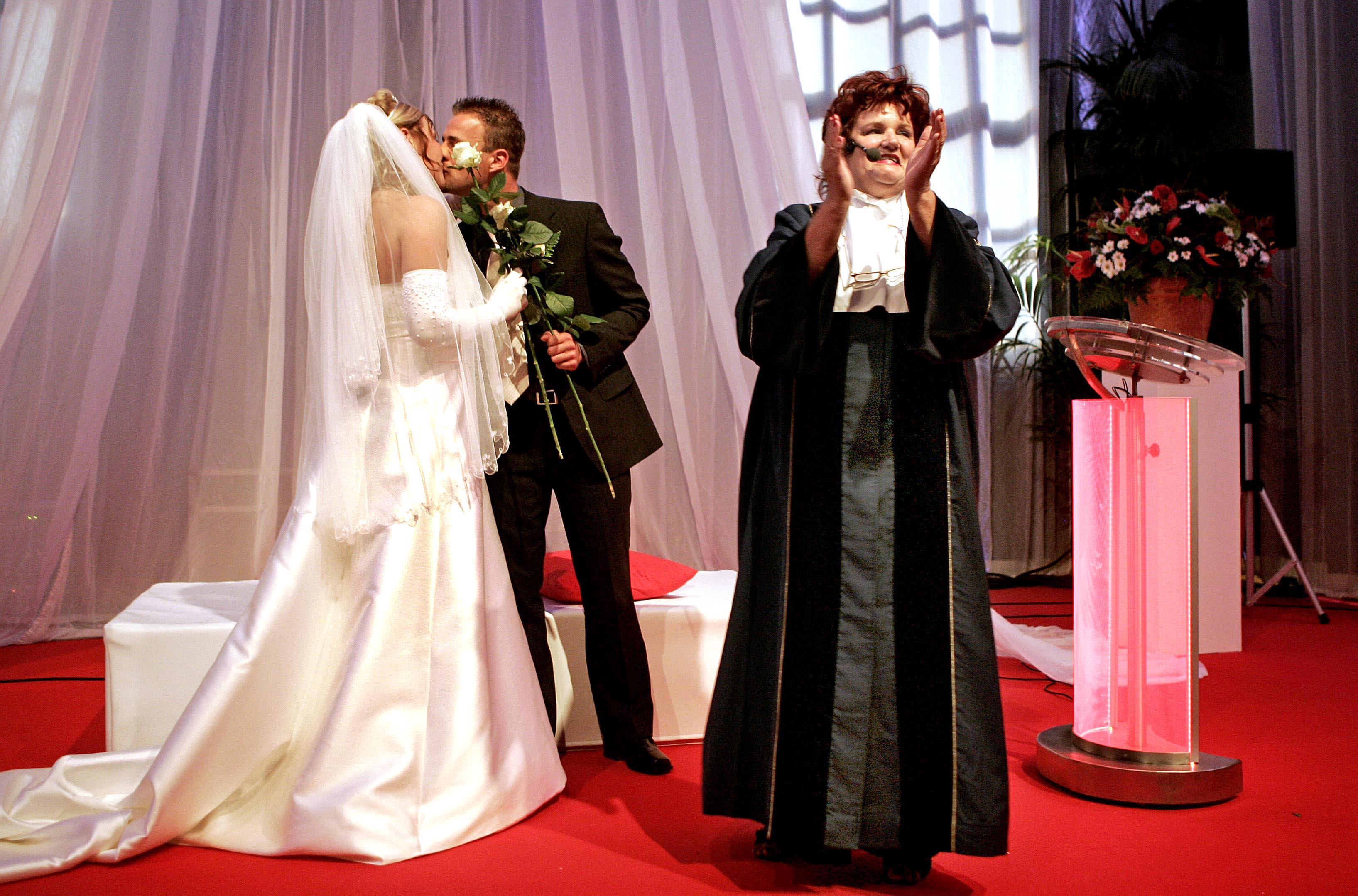 foto van trouwen met Kruidvat